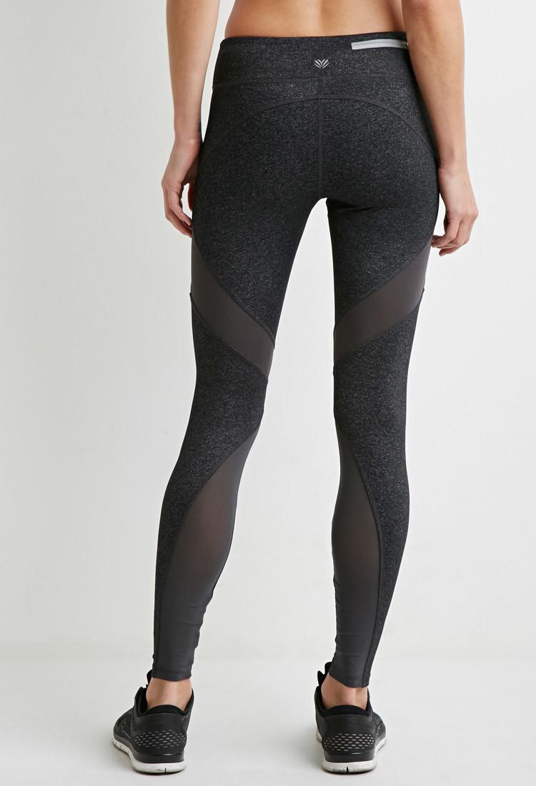 Active Mesh Leggings - Trendy Clothes