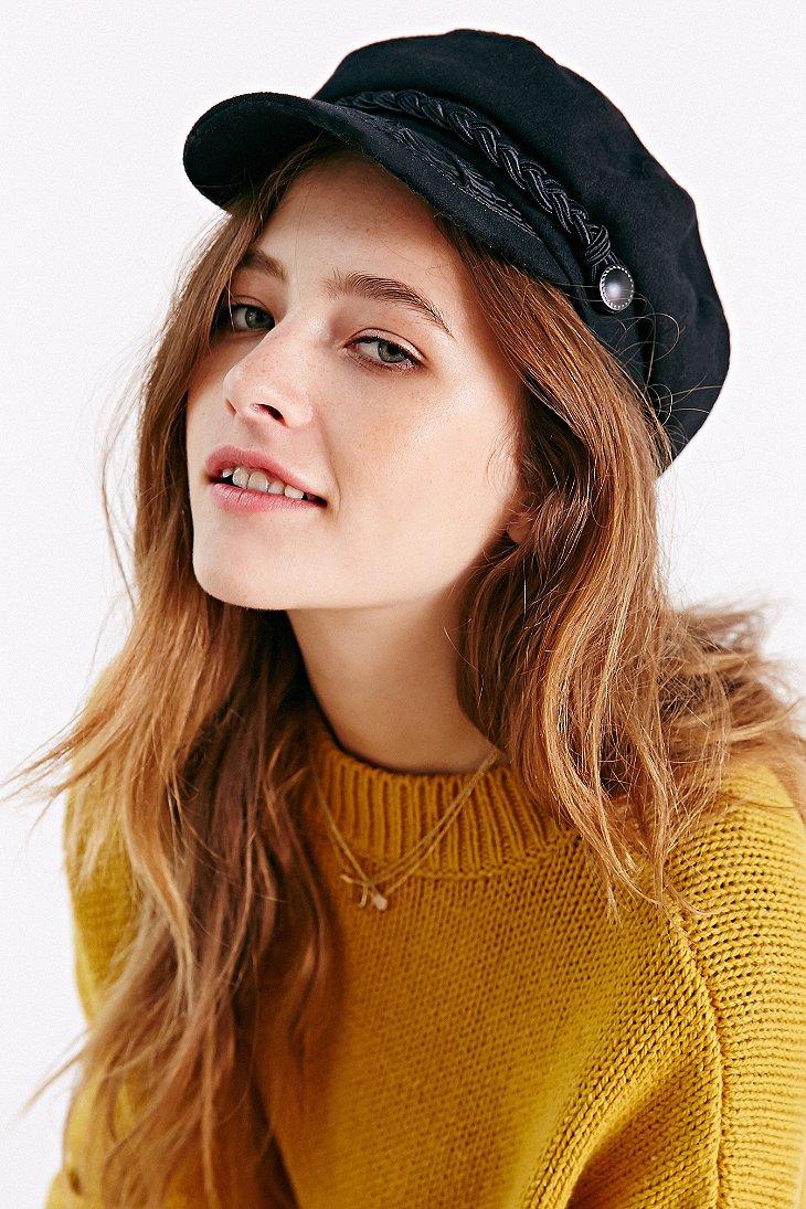 Lyst - Urban Outfitters Greek Fisherman Hat in Black e3d45b3b852
