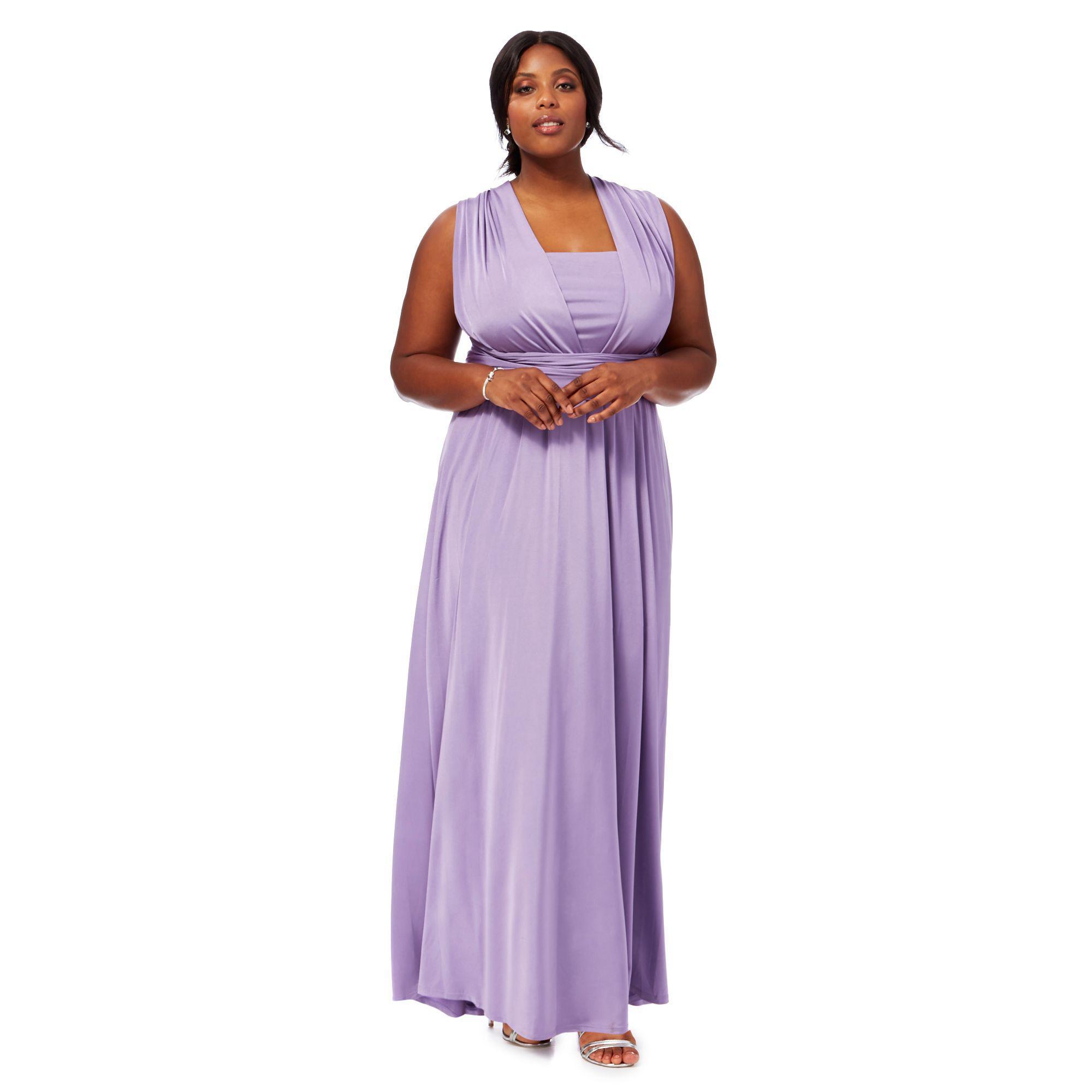 9f613a4c183 Purple Plus Size Evening Dresses - raveitsafe