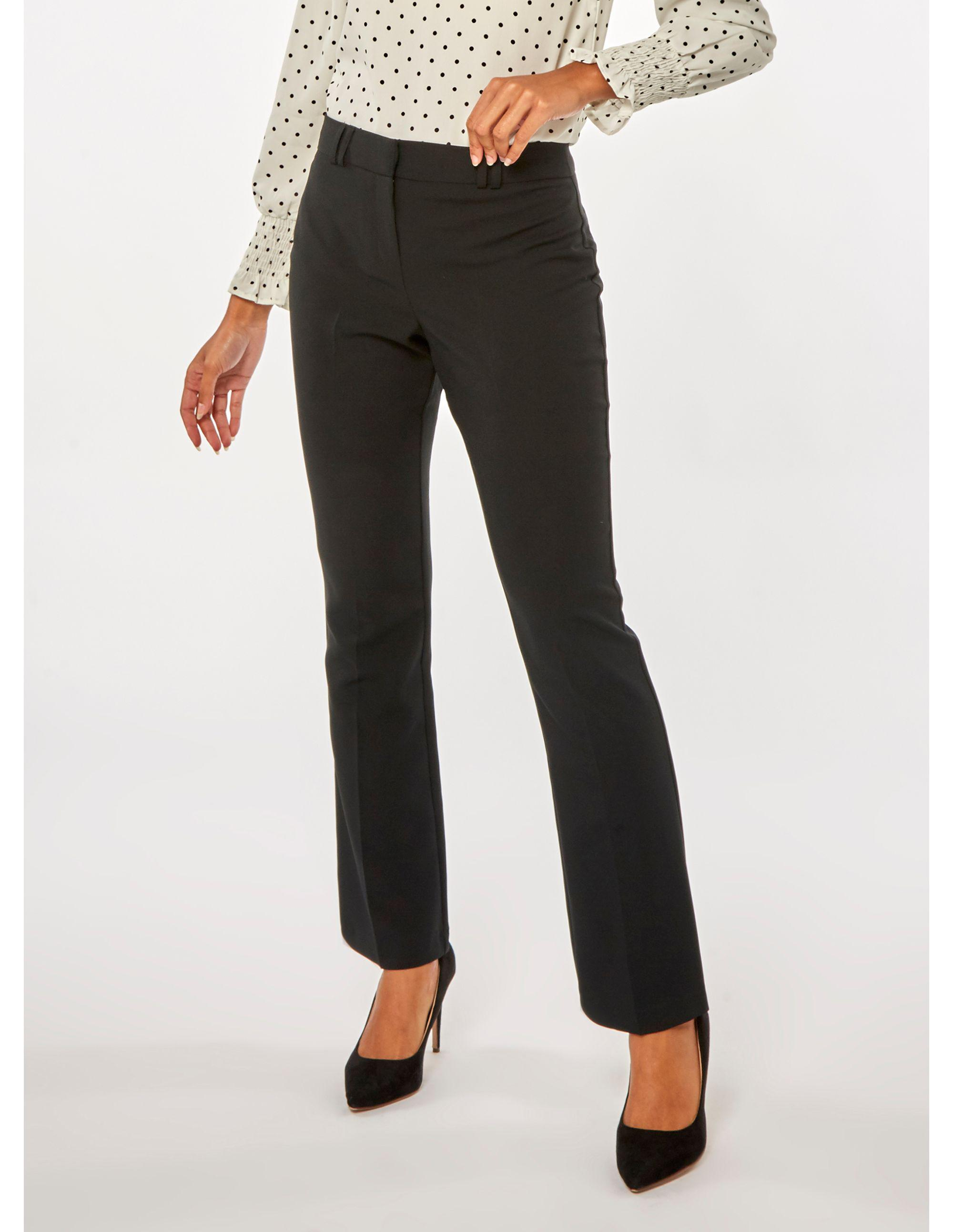5531b7a539179 Dorothy Perkins Black Bootcut Trousers in Black - Save 25% - Lyst