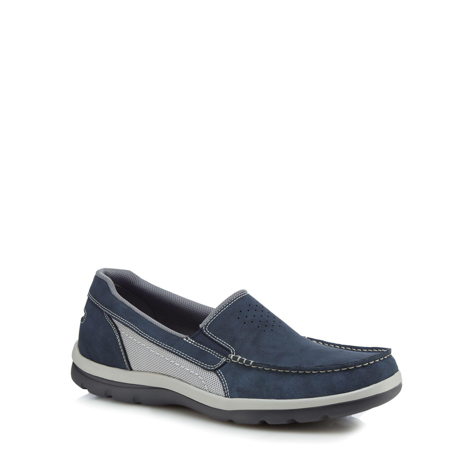 Dark blue suede 'Get Your Kicks' slip-on shoes footlocker pictures sale online free shipping really wholesale price cheap online free shipping ebay new cheap price TOLDKL8