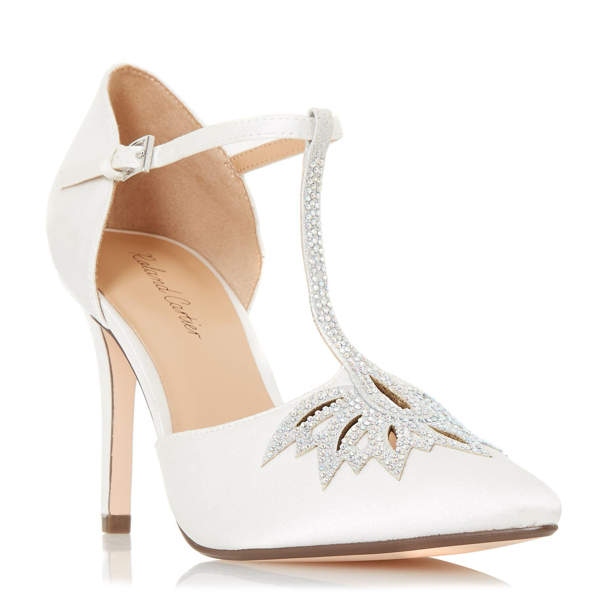 87d0c85fa8f Roland Cartier Ivory  denira  High Stiletto Heel Court Shoes in ...