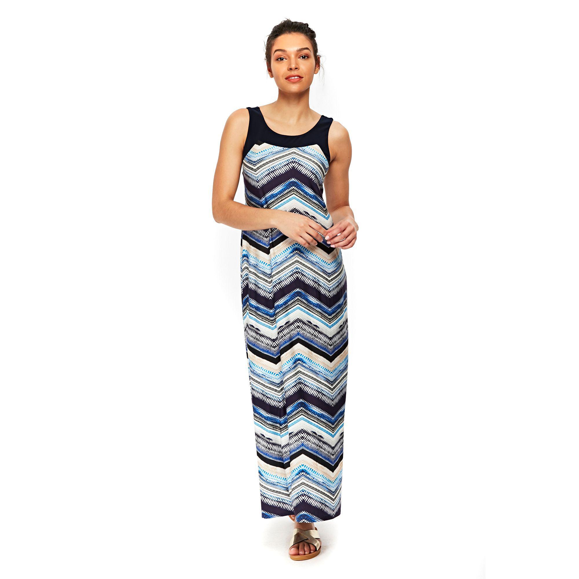 b9a180f75e832 Gallery. Previously sold at: Debenhams · Women's Blue Dresses Women's  Geometric ...