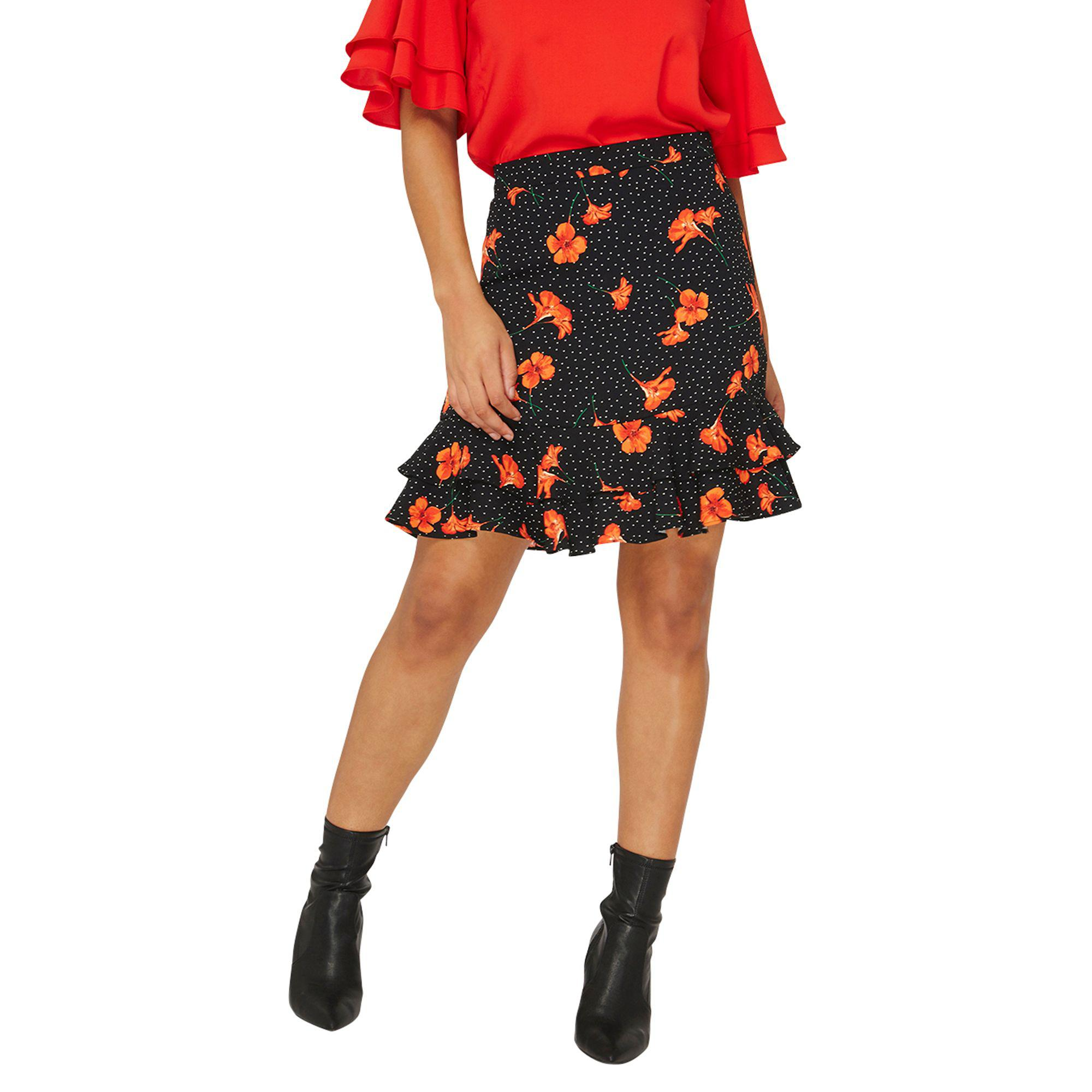Outlet Store Cheap Online Buy Cheap Big Discount Dorothy Perkins Womens Multi Floral Print Mini Skirt- Outlet Cost Cheap Sale Best Sale V6cNGgZob