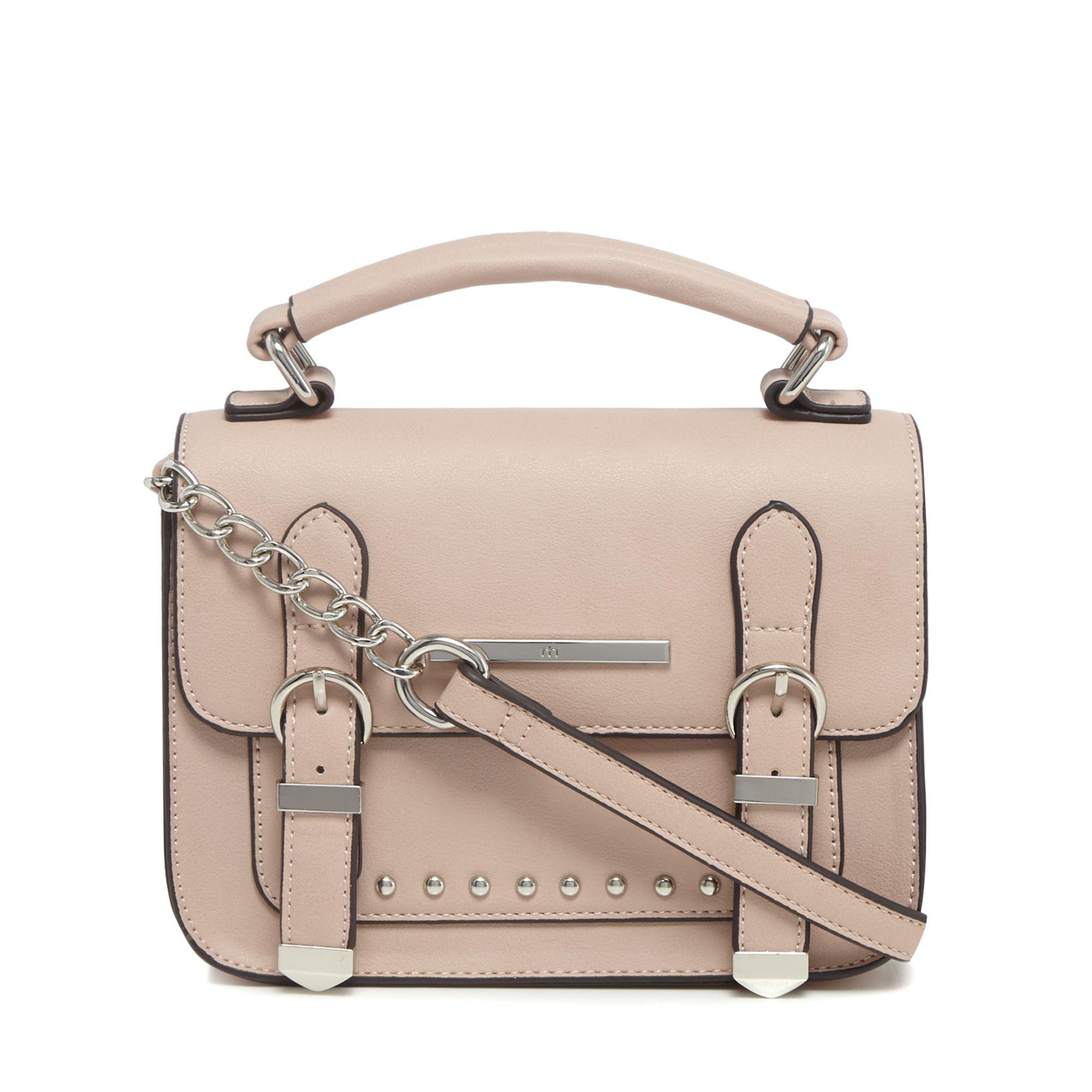 f9b5a8f41e Red Herring Light Pink Studded Cross Body Bag in Pink - Lyst