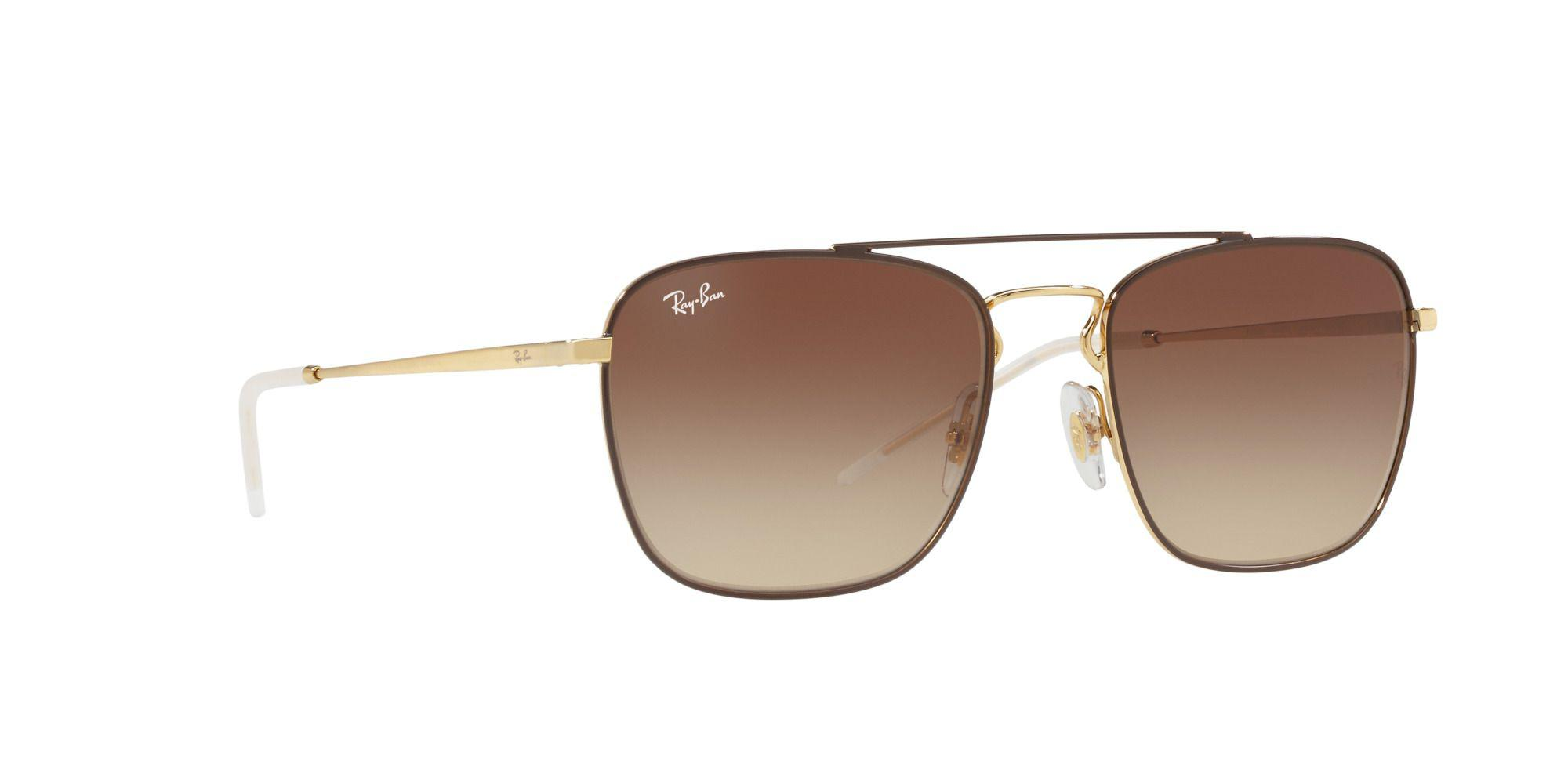 c6a8d6630fc Ray-Ban Brown Rb3588 Square Sunglasses in Brown for Men - Lyst