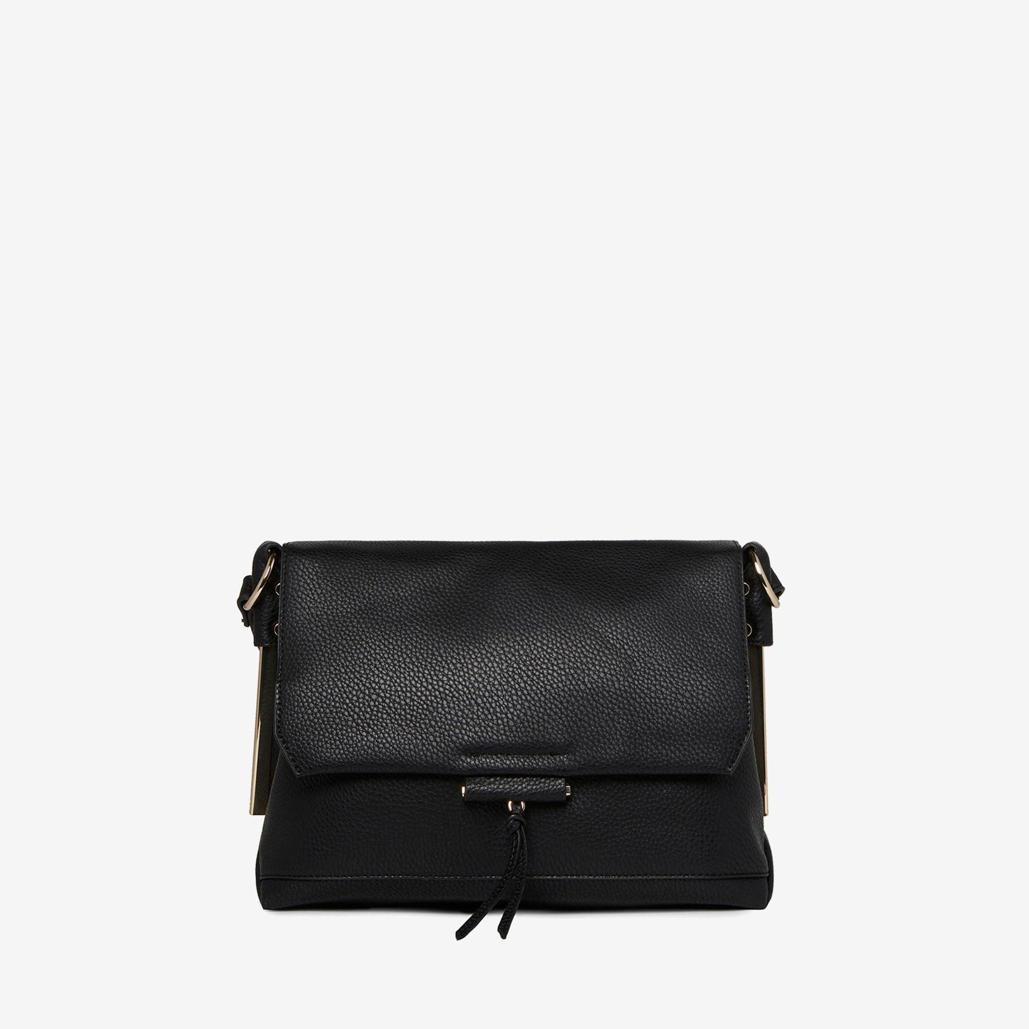 Dorothy Perkins Black Metal Side Cross Body Bag in Black - Save 32 ... 4982b6f3d48f5
