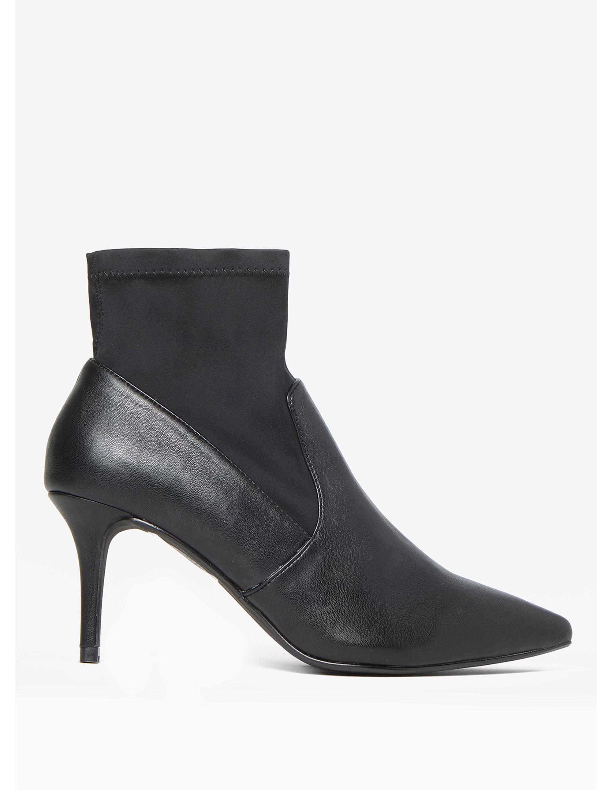 117b8af5e233 Dorothy Perkins Black Motion Sock Boots in Black - Lyst