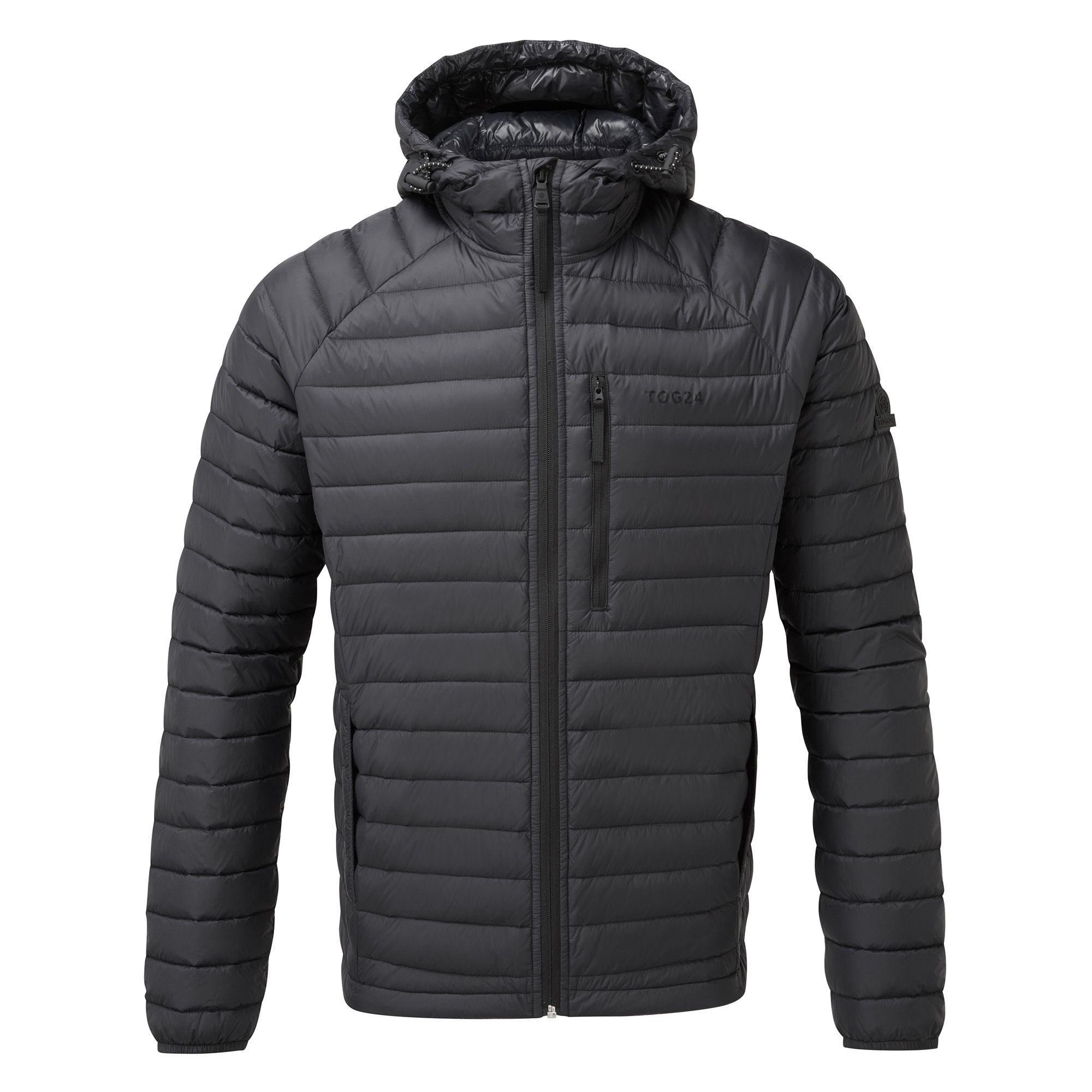 d27b86672d Tog 24 Black Beck Hooded Down Jacket in Black for Men - Lyst