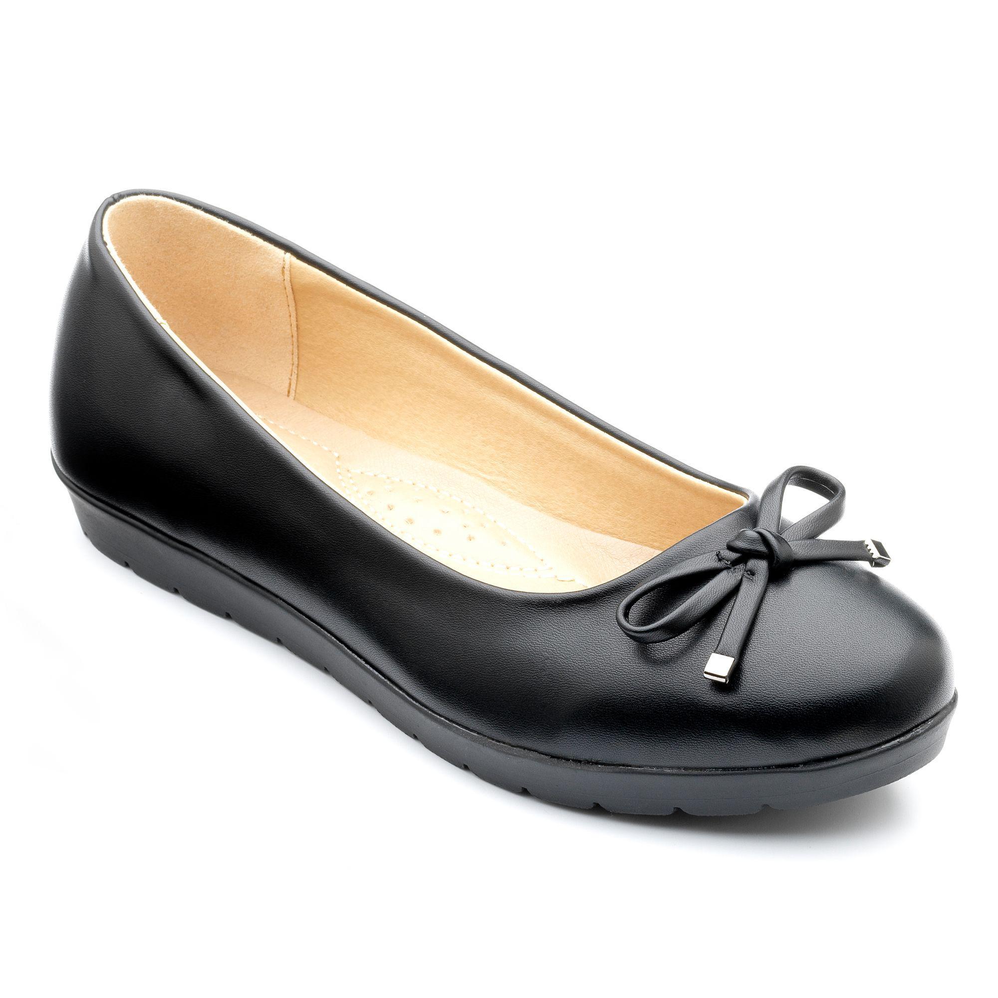 Black matt 'elizabeth' ballerina shoes browse cheap price buy cheap for nice 6D1yv8T9Gd