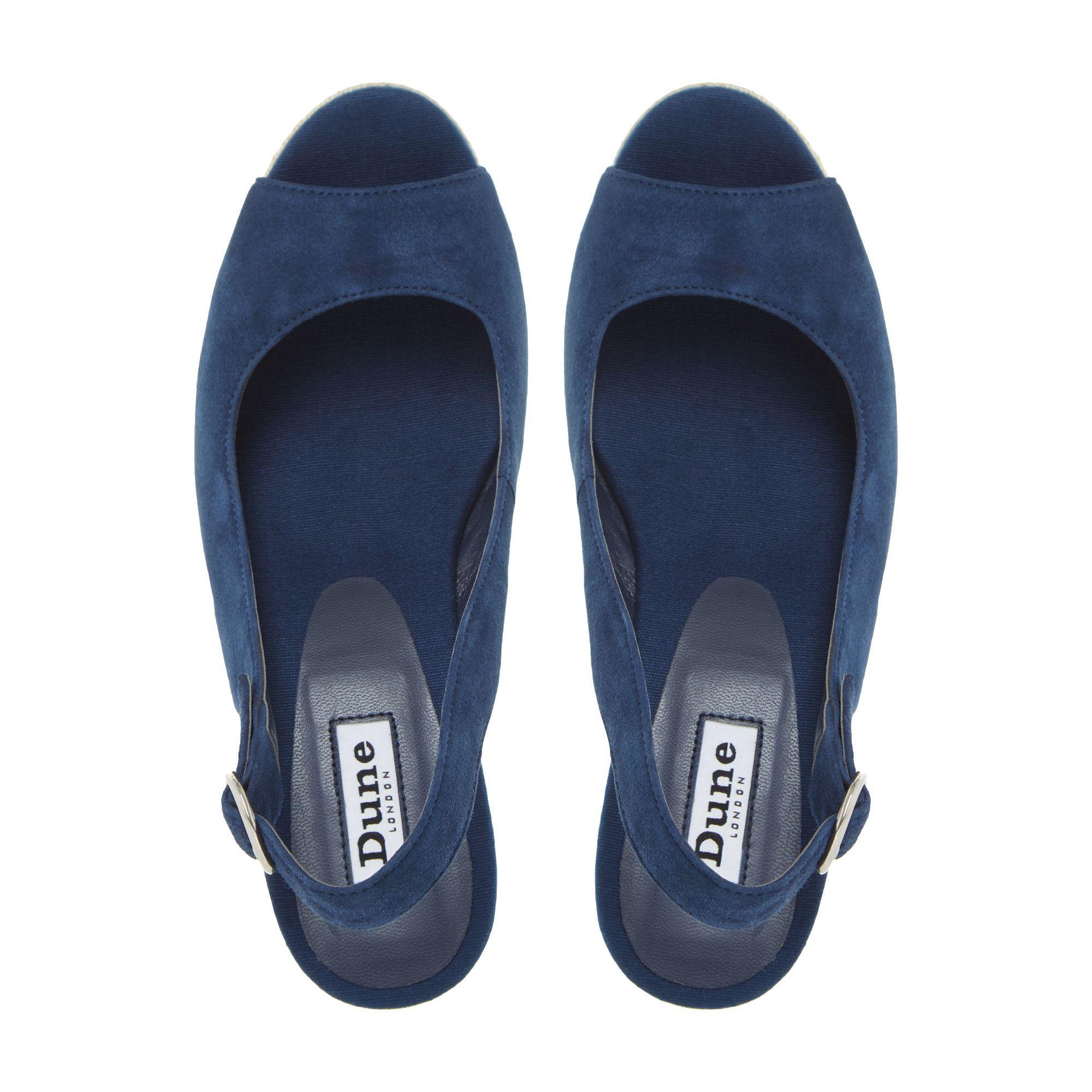 5be8f5013207 ...  klick  Espadrille Trim Wedge Sandals - Lyst. View fullscreen