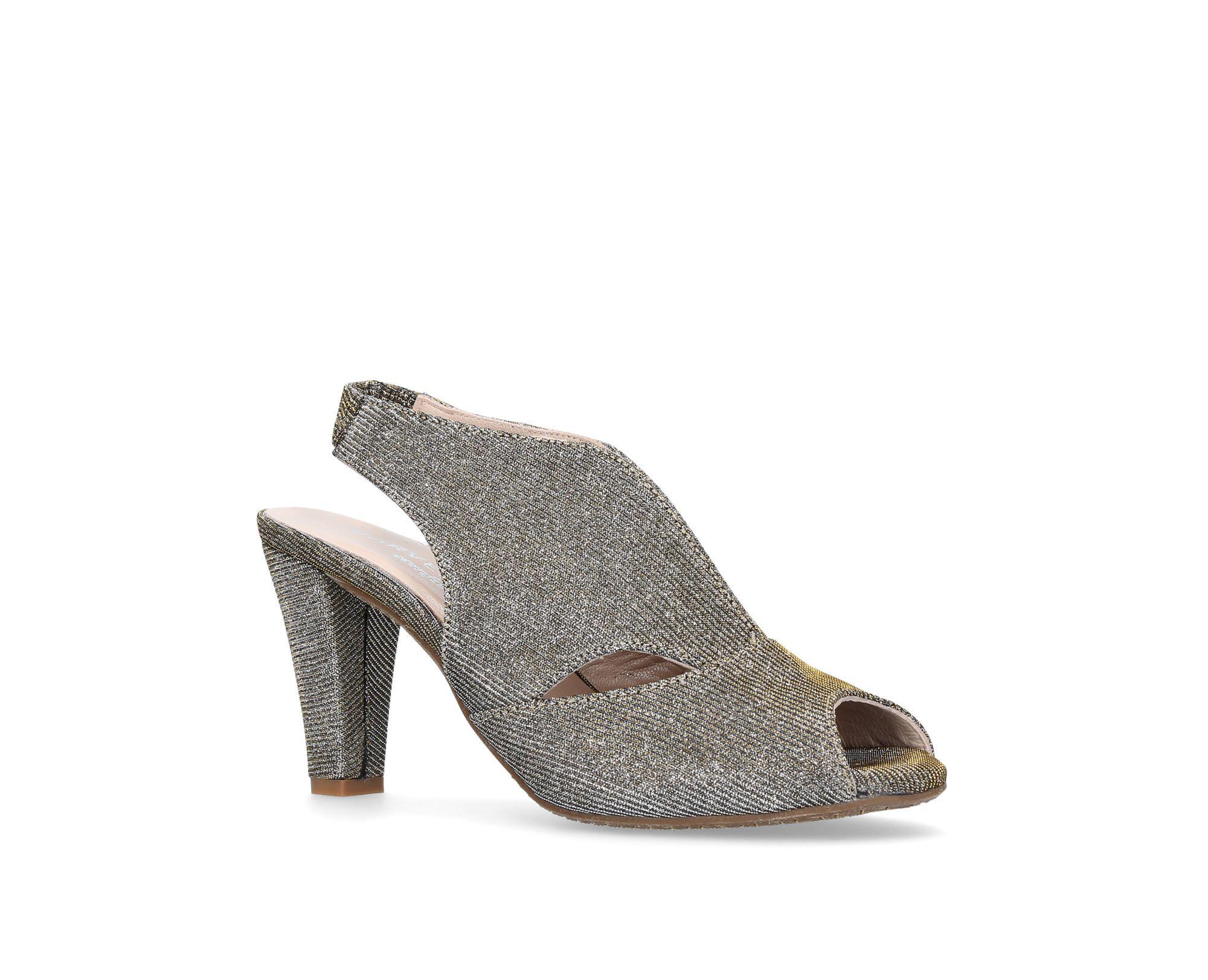 8ebd436955 Carvela Kurt Geiger Metallic 'arabella' Mid Heel Sandals in Metallic ...
