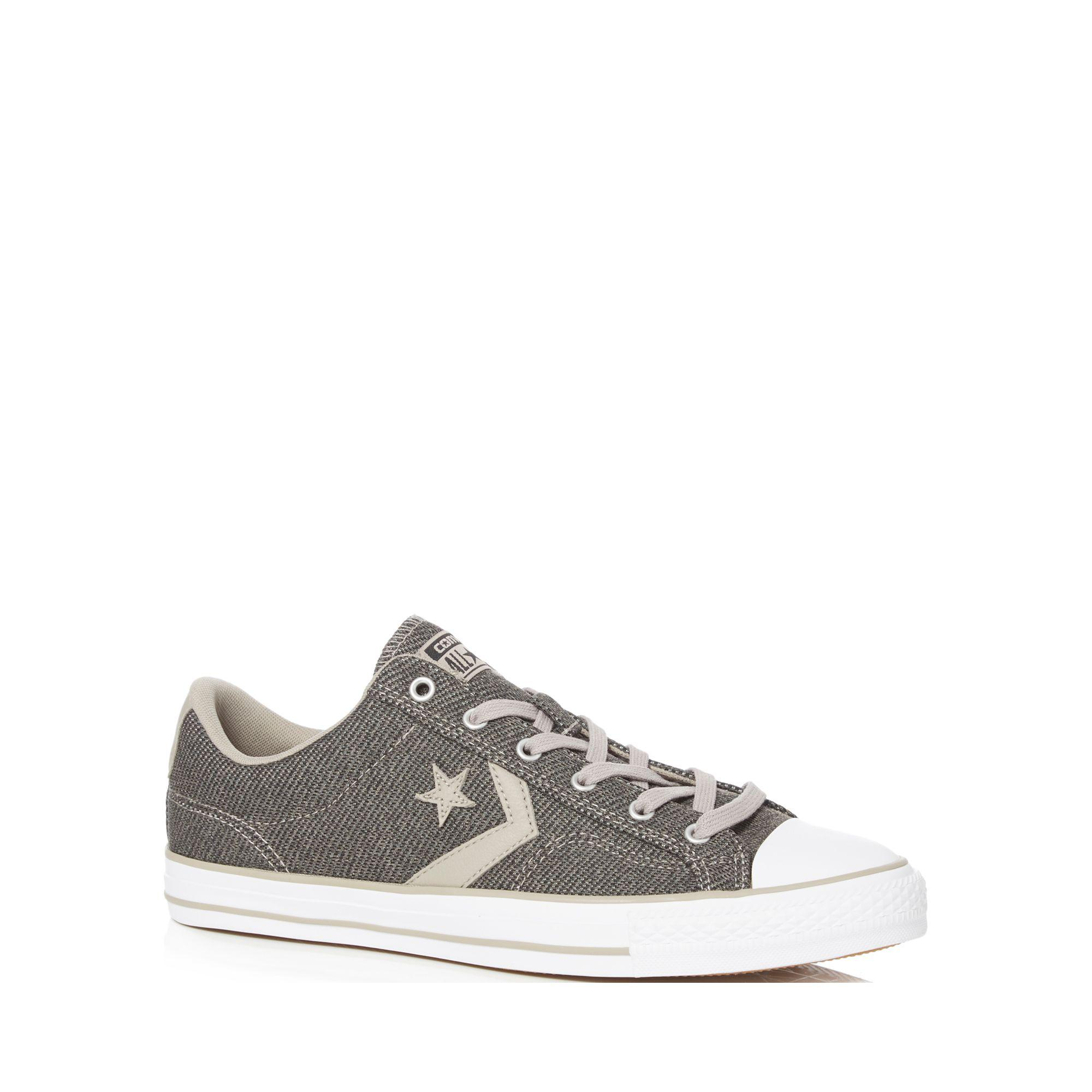 Converse Dark grey 'Star Player' lace up trainers