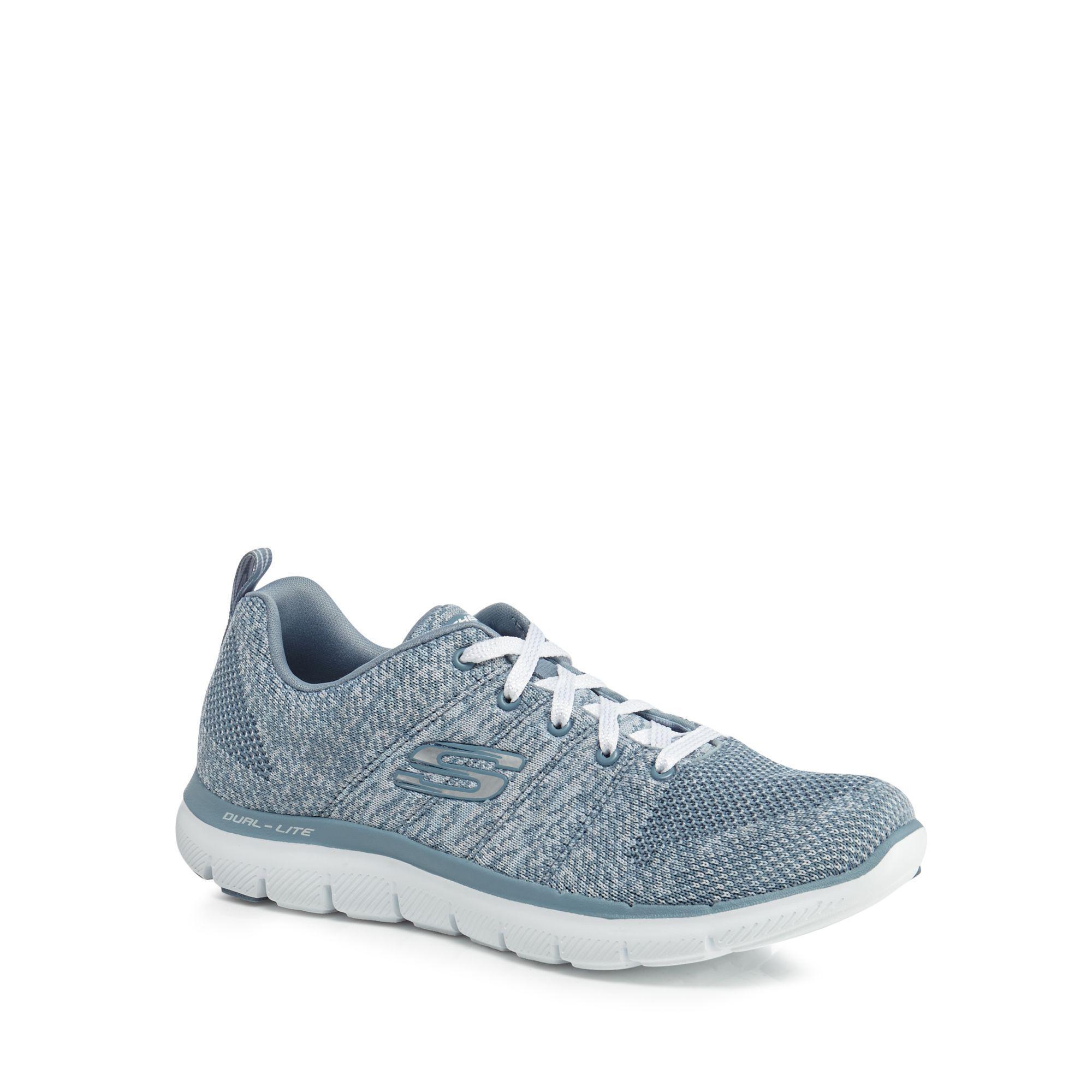 supply sale online find great sale online Blue knit 'Flex Appeal 2.0 High Energy' trainers cheap genuine best 1FZz82U1AX