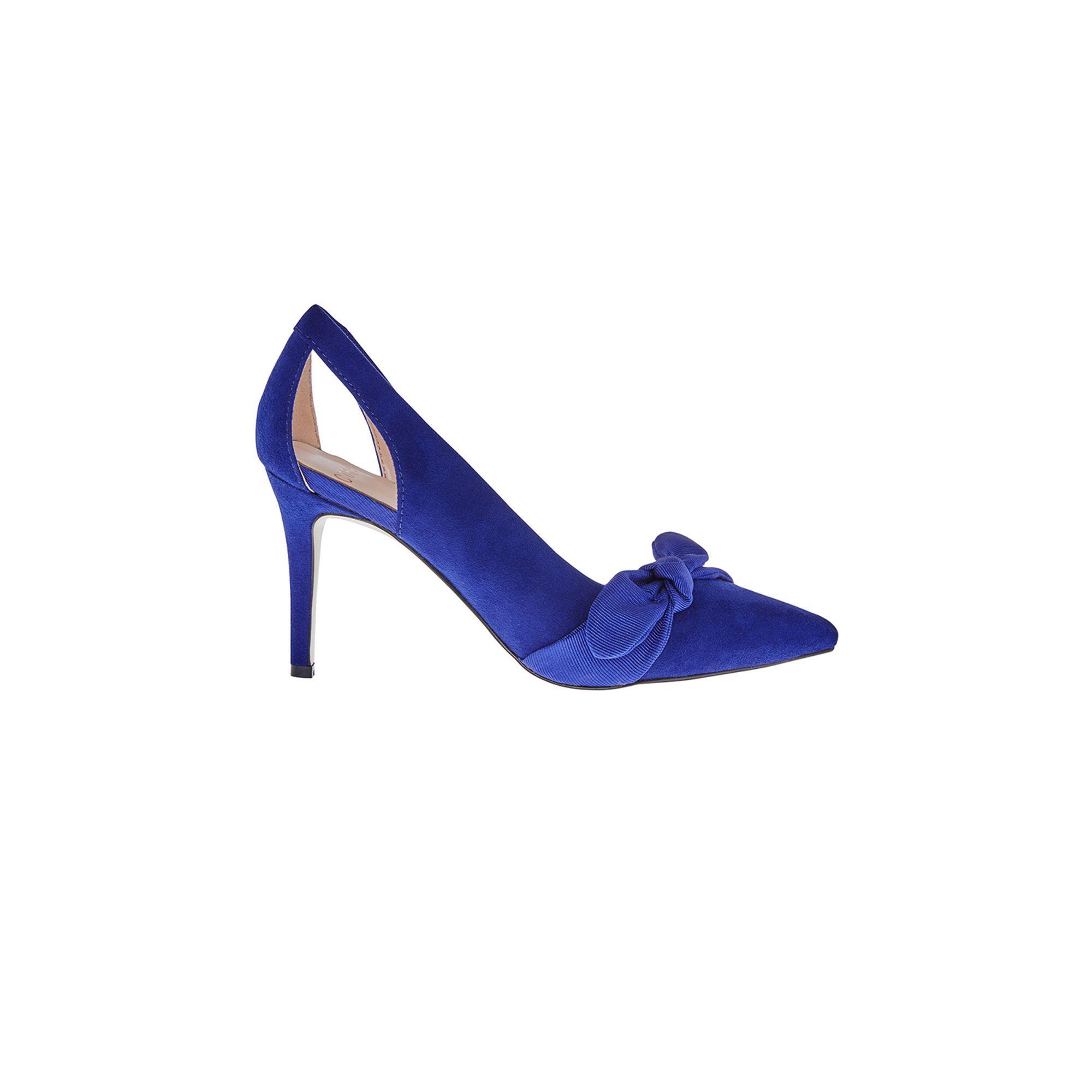 19e06c296f1 Coast Cobalt Blue  elina  Bow Court Heel in Blue - Lyst