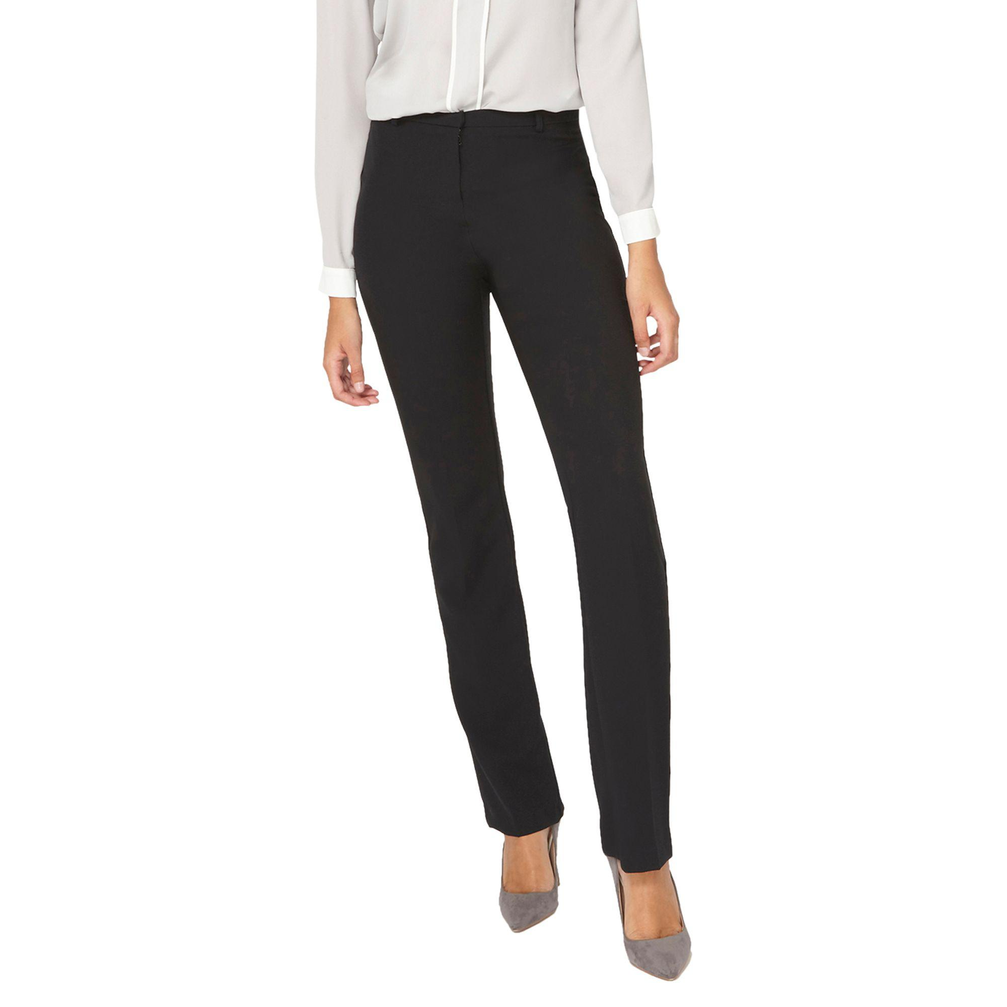 39c52102a8716 Dorothy Perkins **tall Black Slim Leg Bootcut Trousers in Black - Lyst