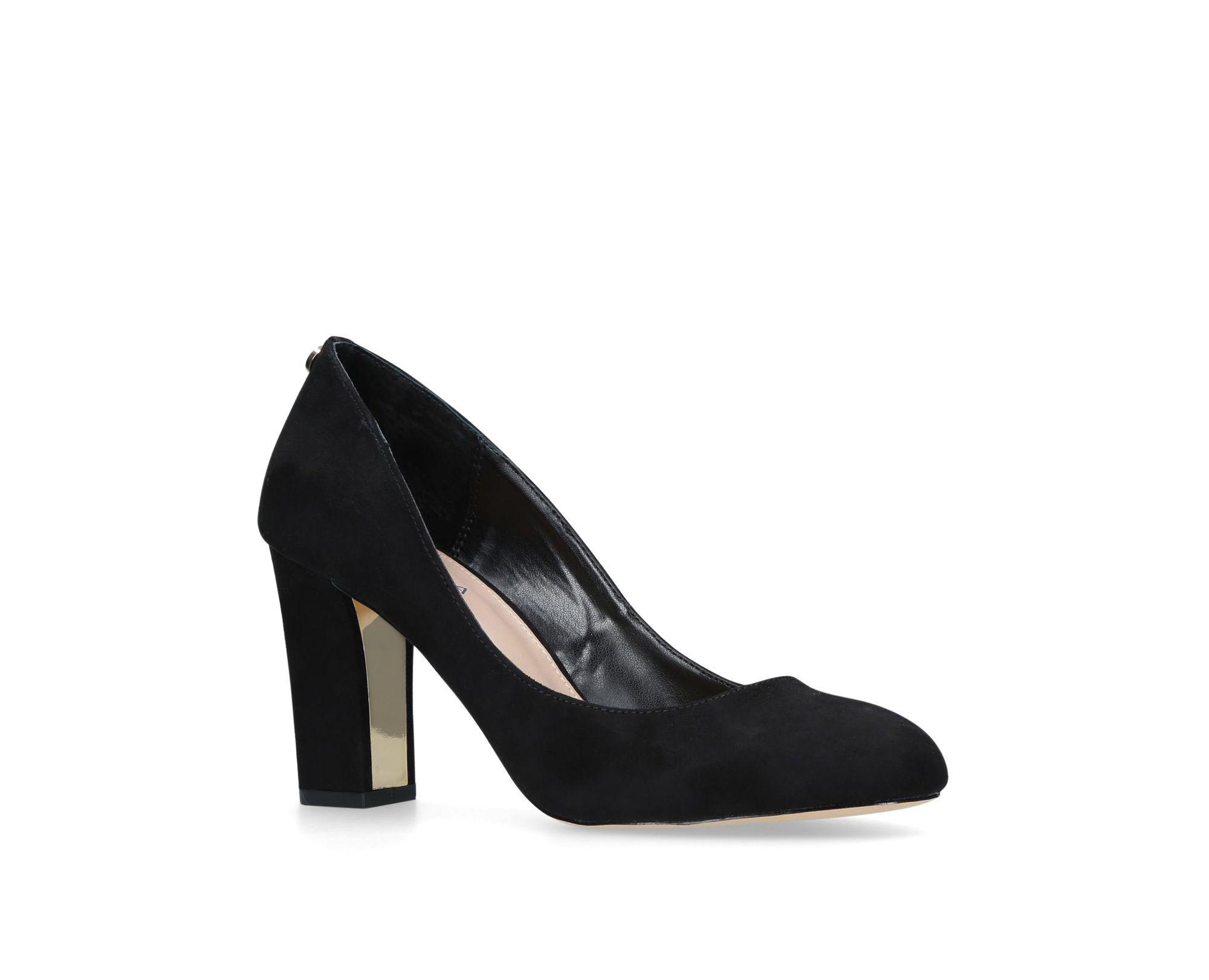 2d61adea6b23 Carvela Kurt Geiger Black  kruise  Mid Heel Court Shoes in Black ...