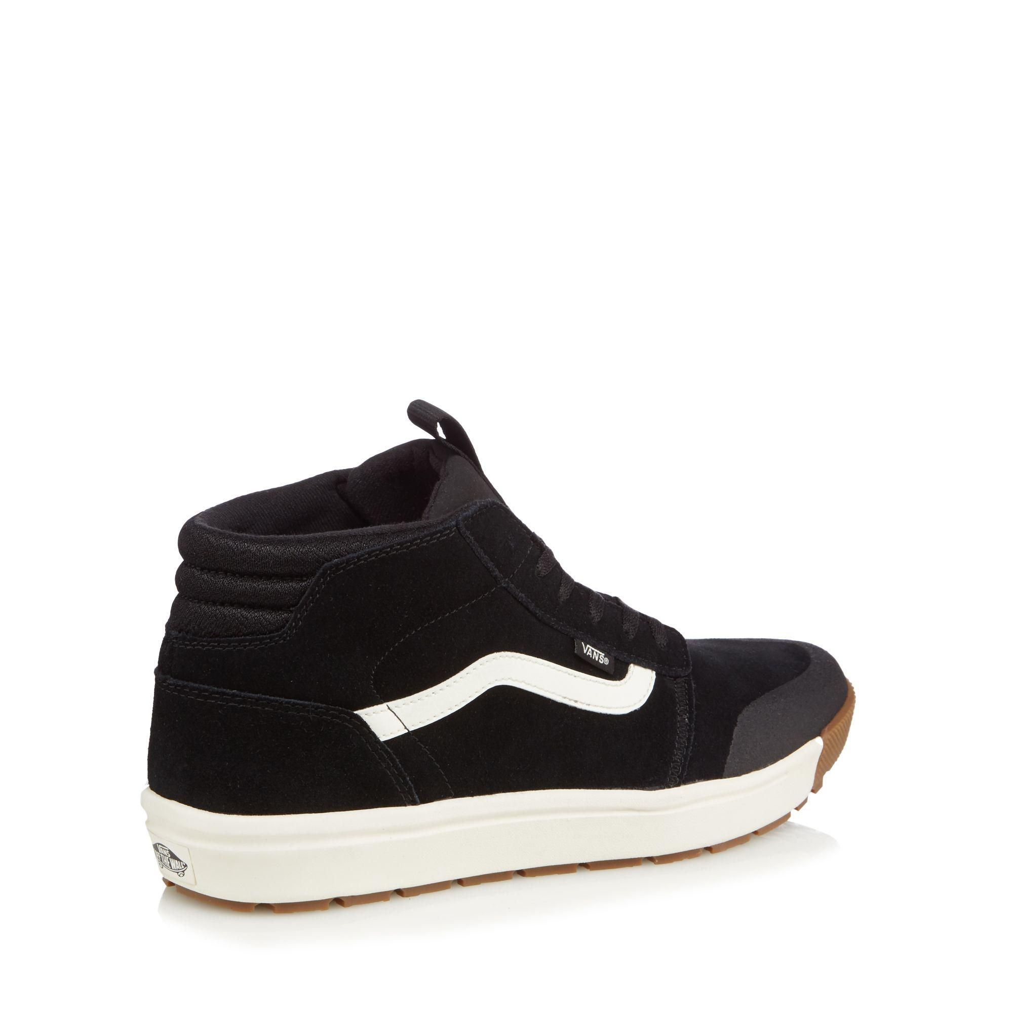 Black suede 'Quest' high top trainers discount top quality sale cheap price outlet for sale hnW56L