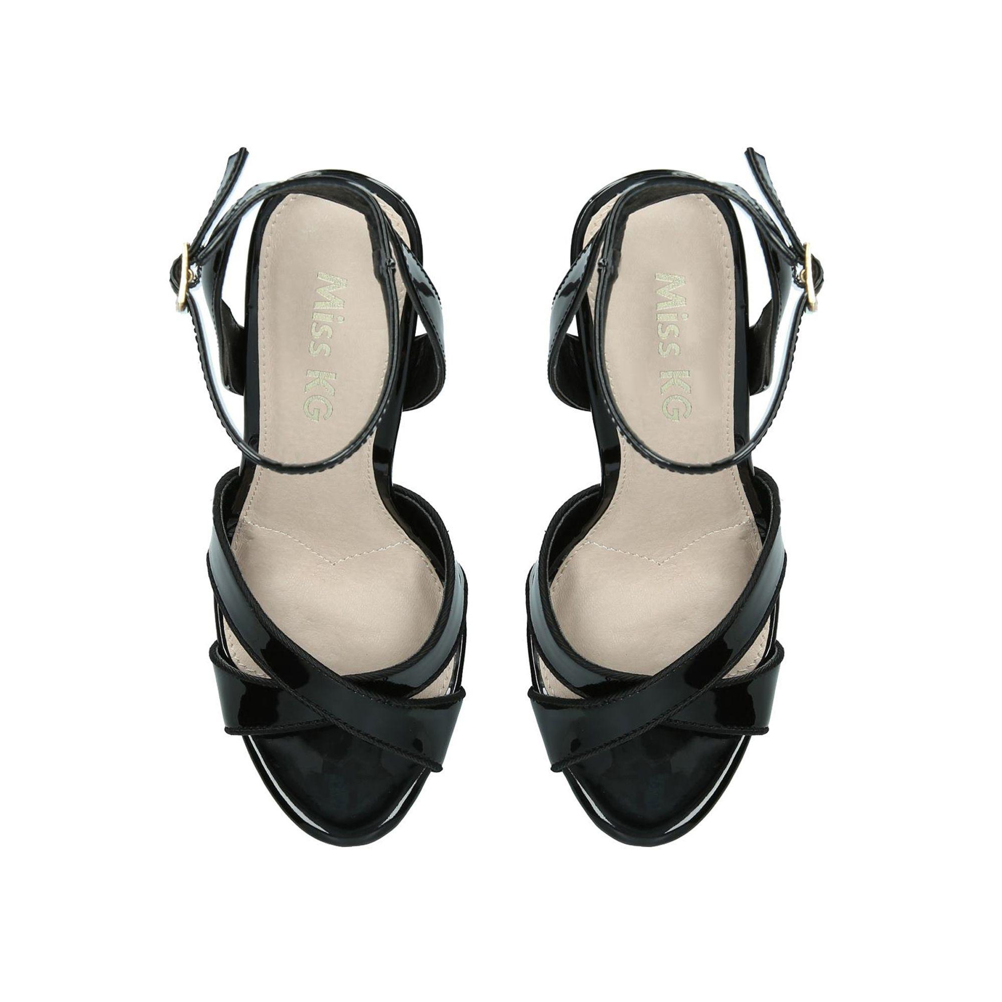 672d6749339 Miss Kg Black  pam  High Heel Sandals in Black - Save 51% - Lyst