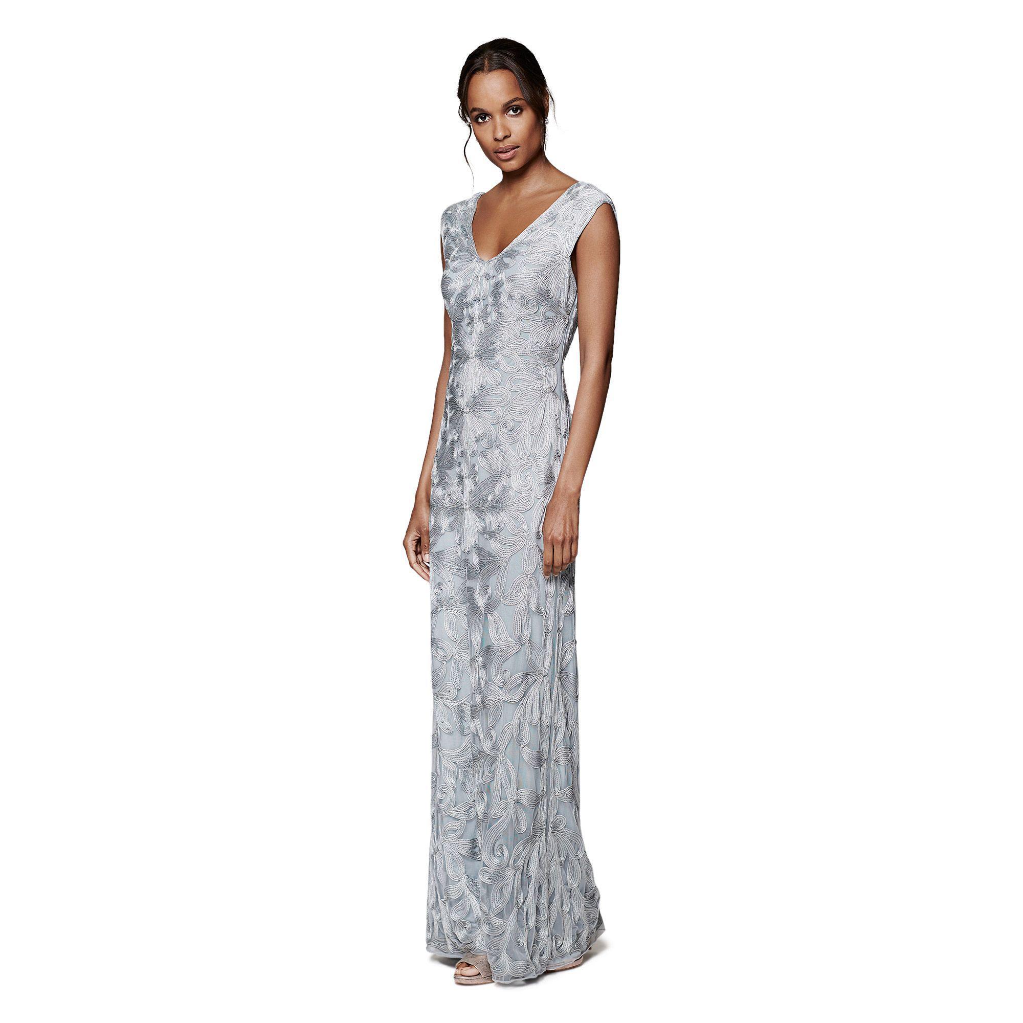 Phase Eight Serenna Tapework Dress in Blue - Lyst