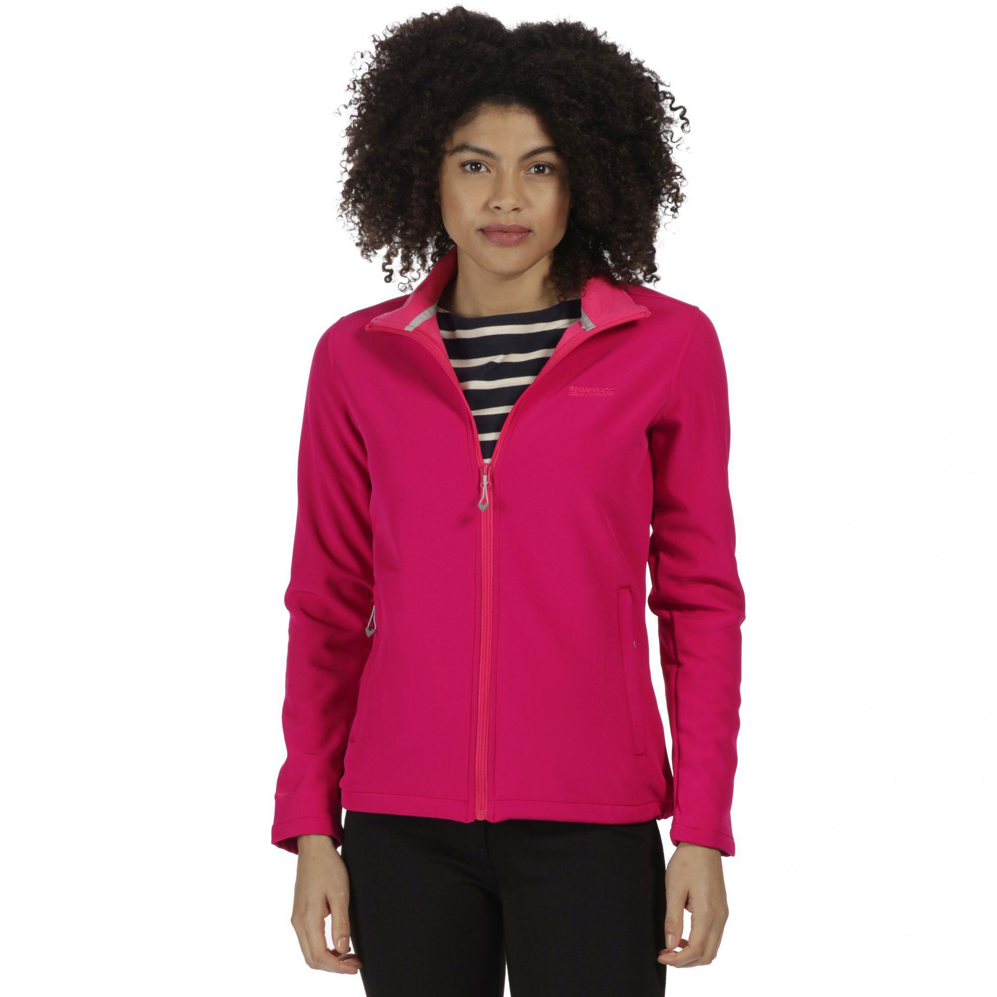 Lyst - Regatta Pink  connie  Softshell Jacket in Pink afc0900c8d