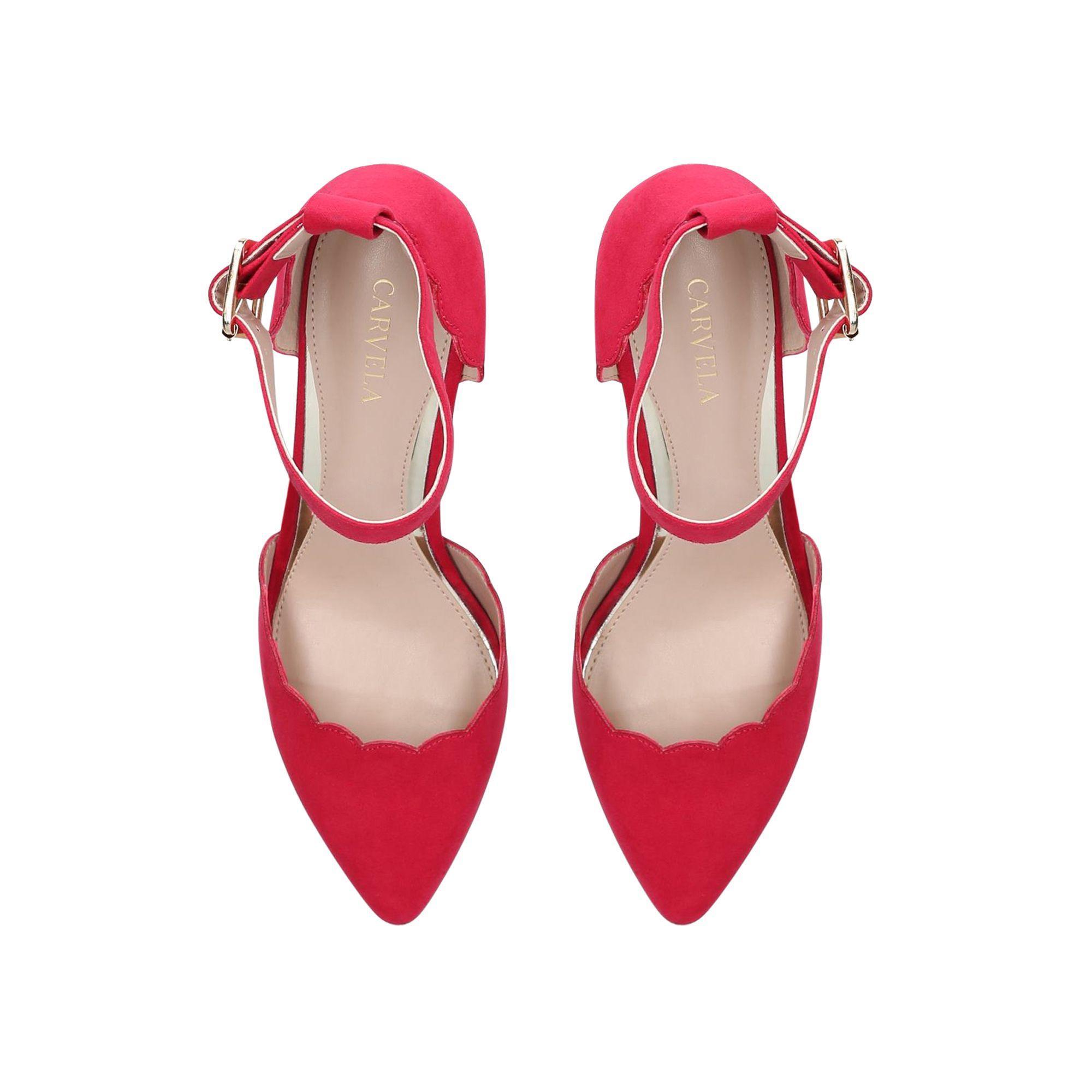 1820a3230c19 Carvela Kurt Geiger - Pink  klove  Mid Heel Court Shoes - Lyst. View  fullscreen