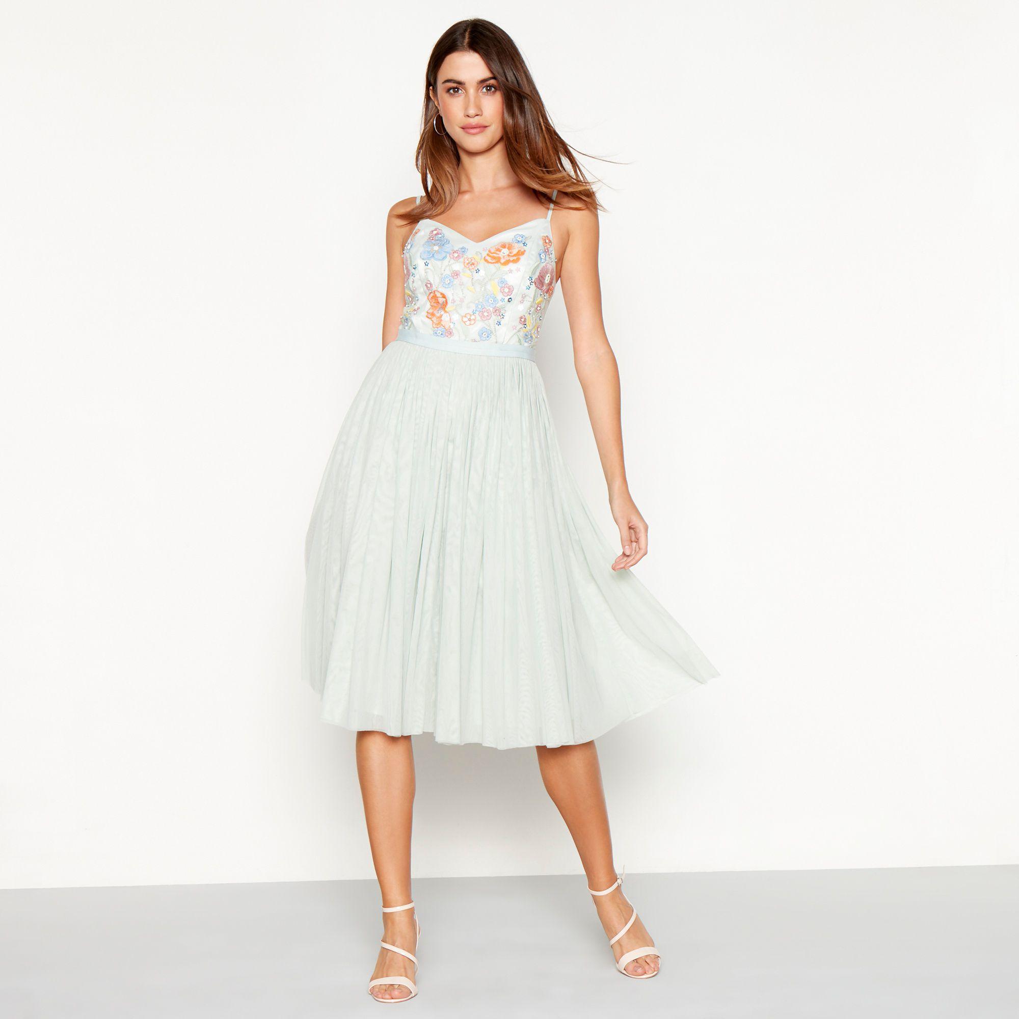 Midi Length Plus Size Dresses