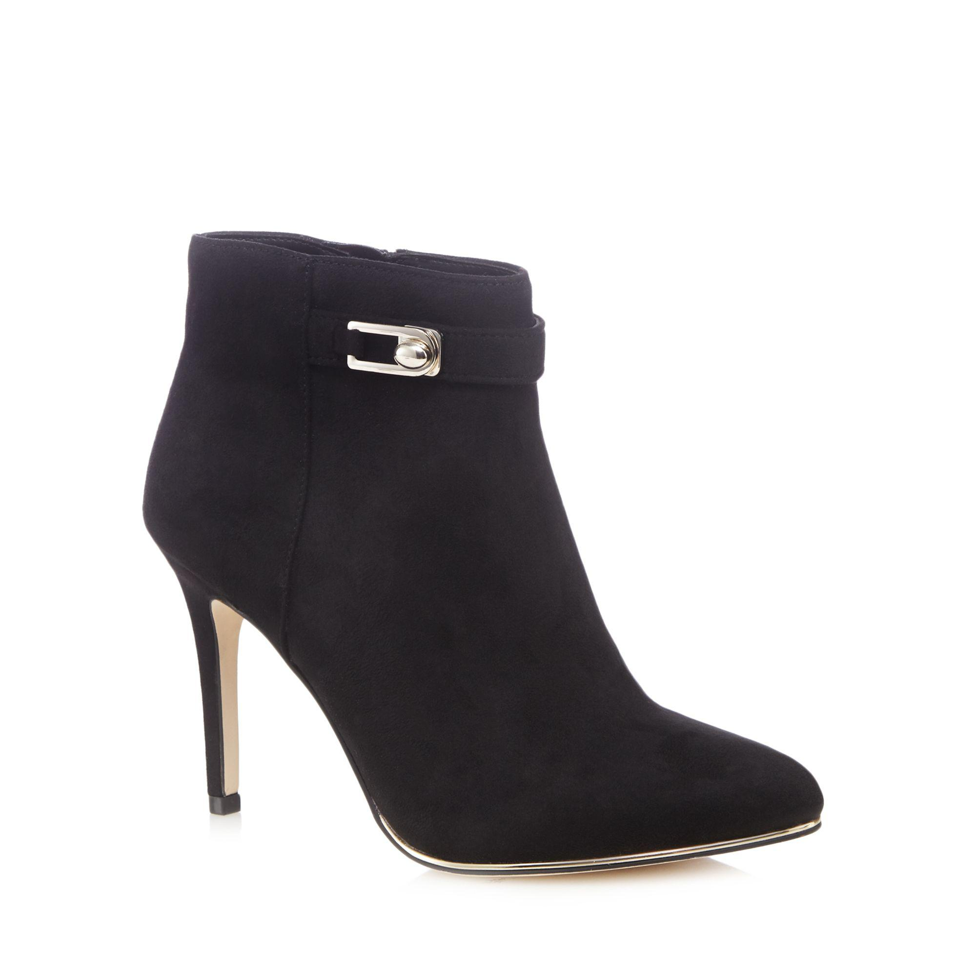Black suedette 'Lovealian' high stiletto heel ankle boots discount exclusive Sq5VgaOKRG