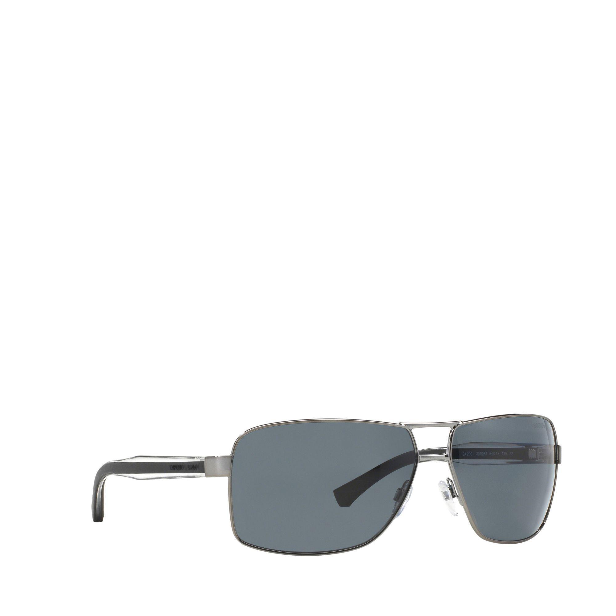 277a3deca895 Emporio Armani Grey Ea2001 Rectangle Sunglasses in Pink for Men - Lyst