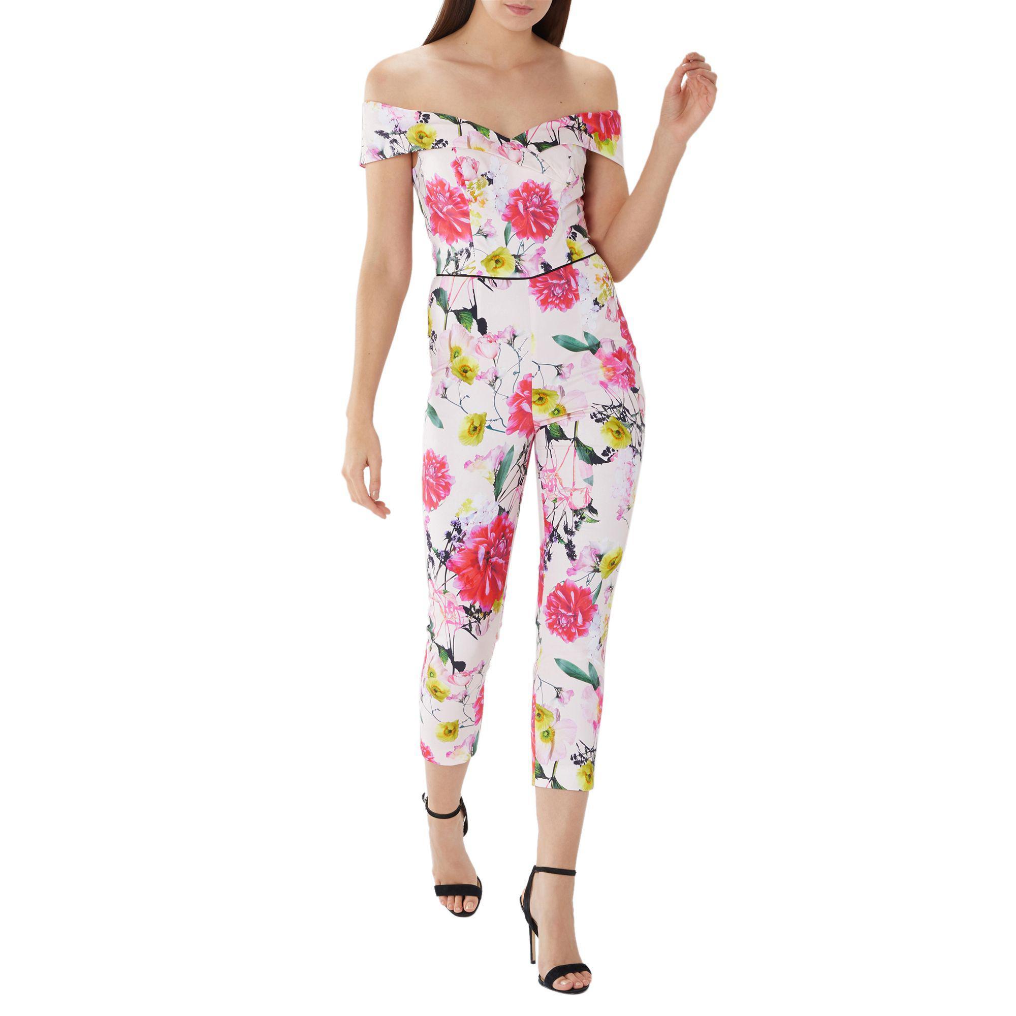 7df1003b5d Coast Bold Floral  denise  Jumpsuit - Lyst