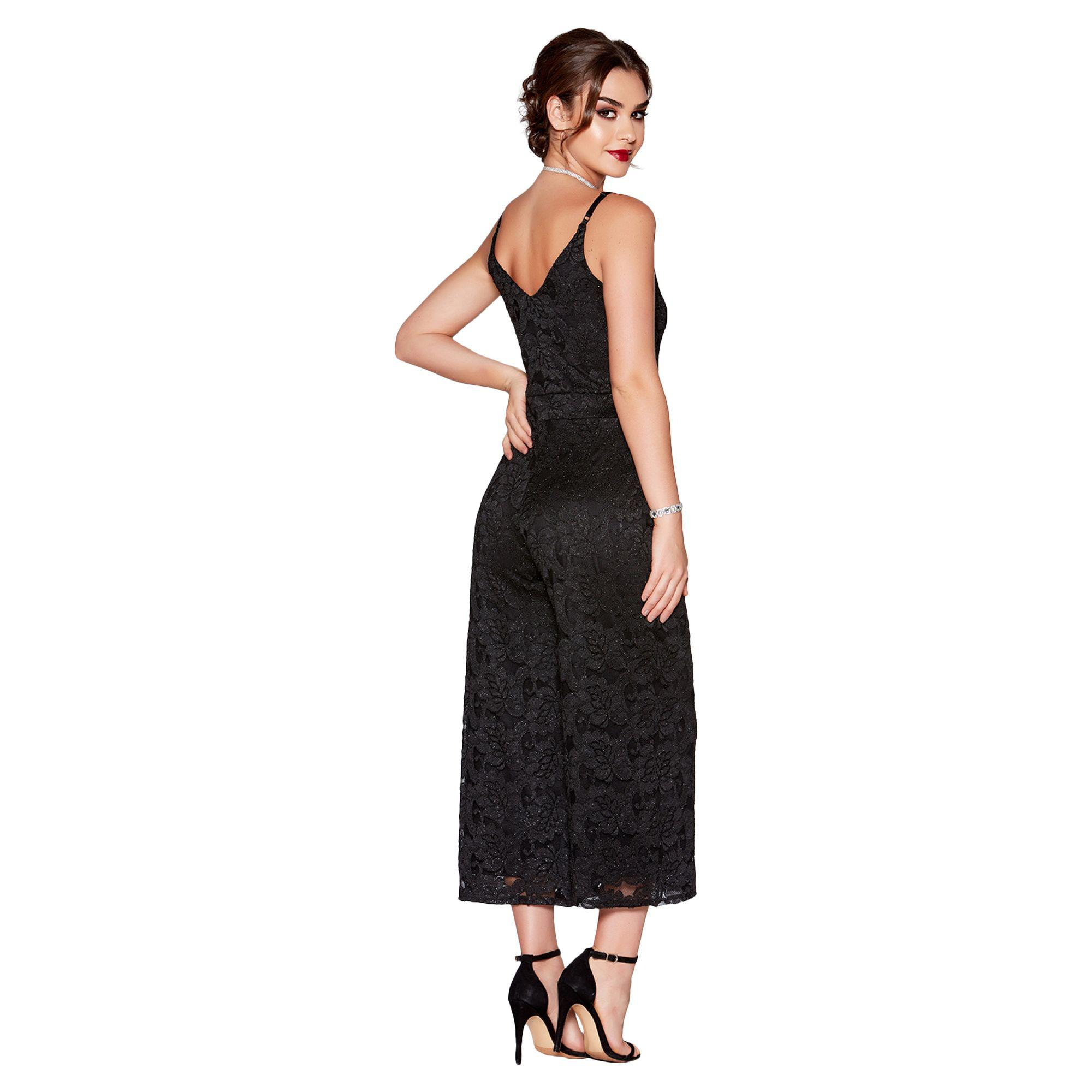 05f43770c5 Gallery. Previously sold at  Debenhams · Women s Black Jumpsuits Women s  Lace ...
