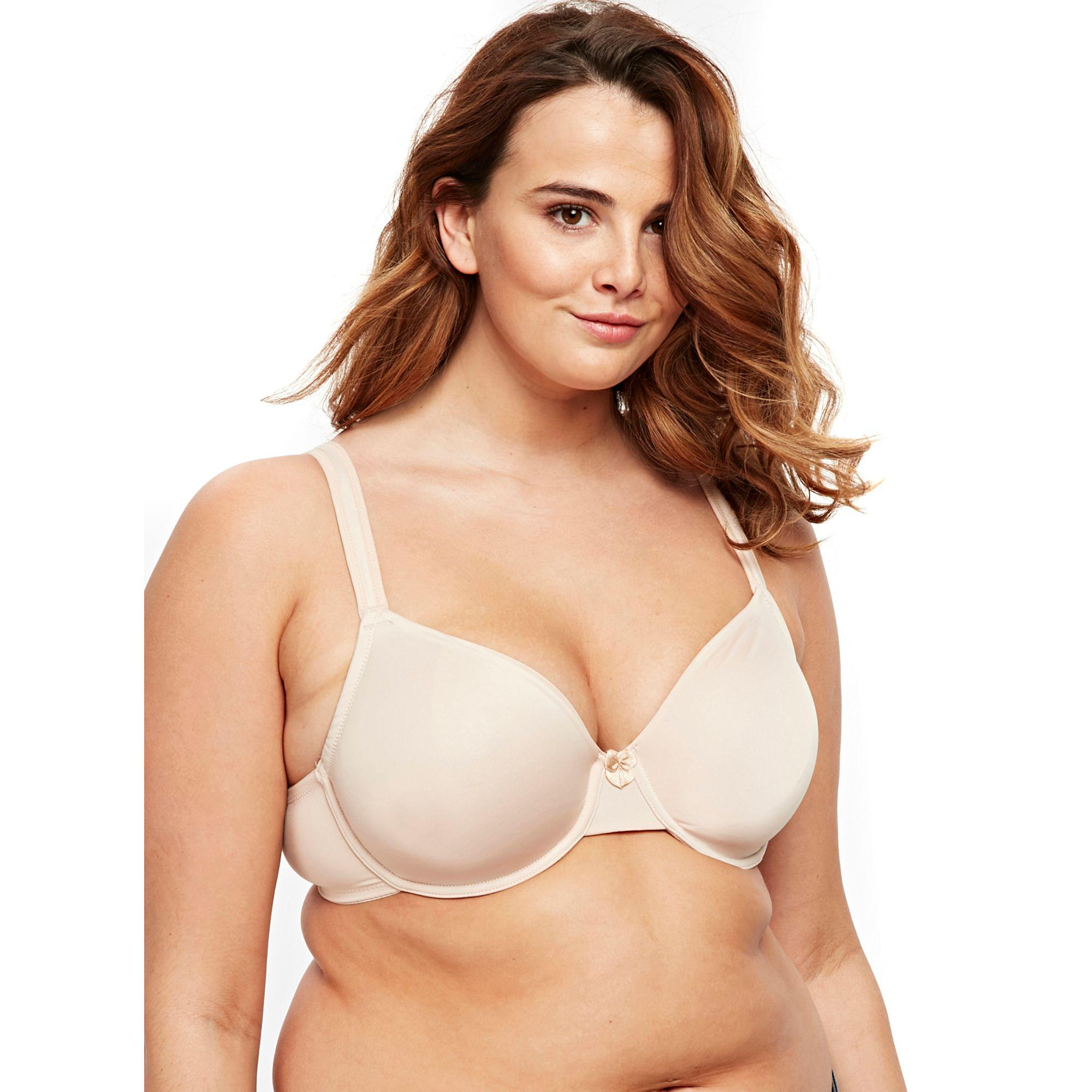 b6b91bdb752e5 Evans 2 Pack Rosie Nude And White T-shirt Bra in Natural - Lyst
