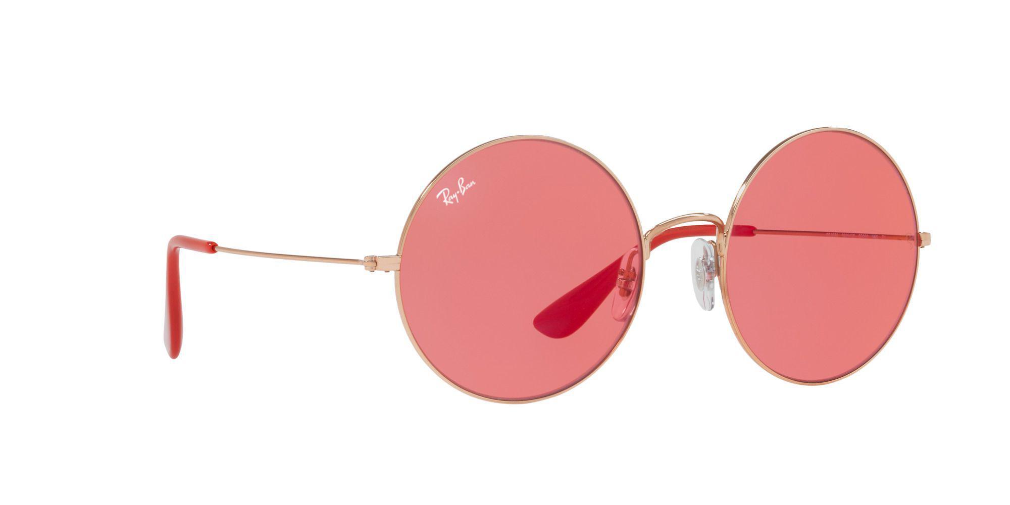 7eafac399c Ray-Ban. Women s Bronze copper Ja-jo Round Sunglasses