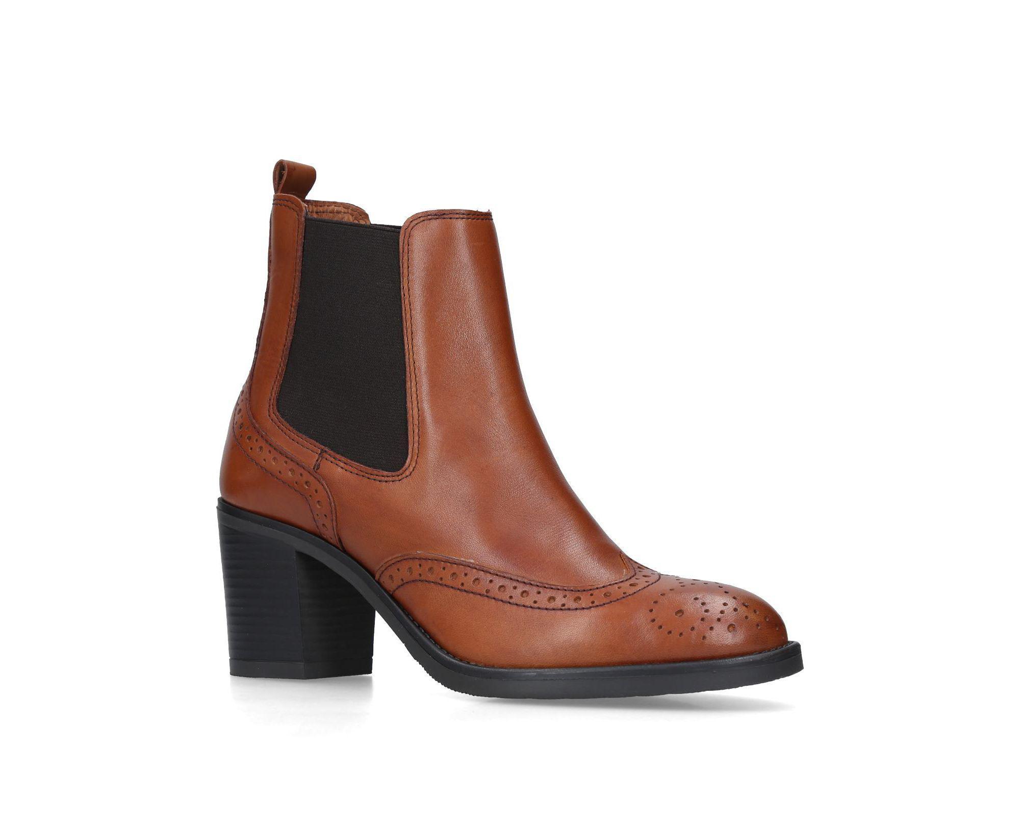 e1680a6783e Women's Brown Raquel Leather Ankle Boots