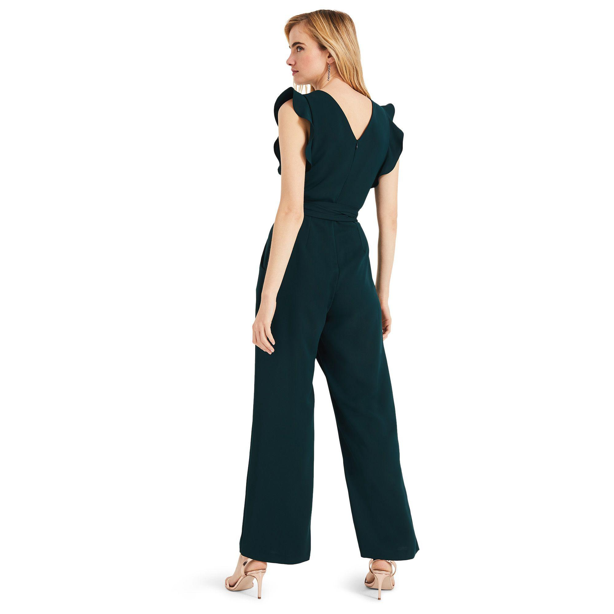870d96969a3 Phase Eight - Green Victoriana Jumpsuit - Lyst. View fullscreen