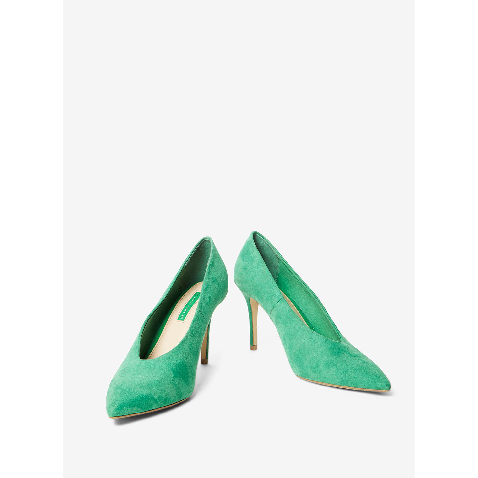 edf9320b35120 Dorothy Perkins Green  gatsby  Court Shoes in Green - Lyst