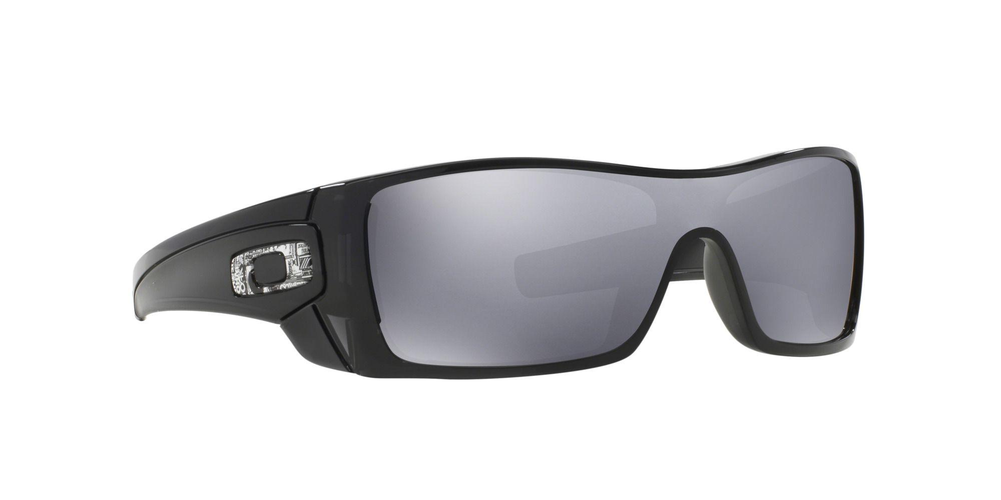 43b2856f6f Oakley Black  batwolf  Rectangle Oo9101 Sunglasses in Black for Men ...