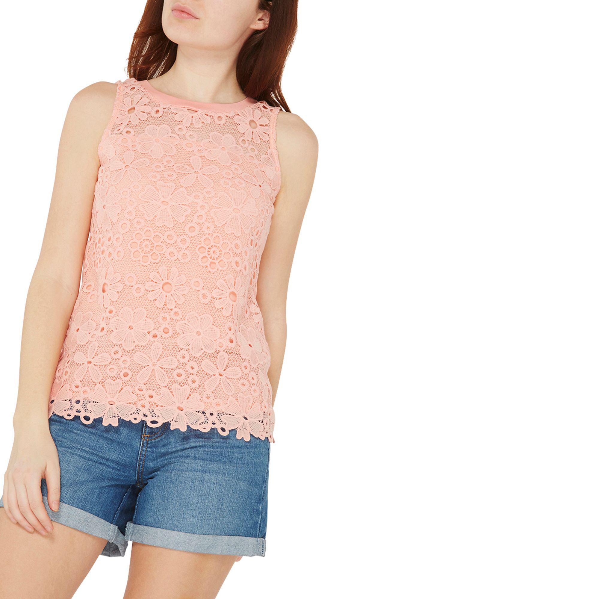 4c0bd5dc770513 Gallery. Previously sold at: Debenhams · Women's Lace Tops ...