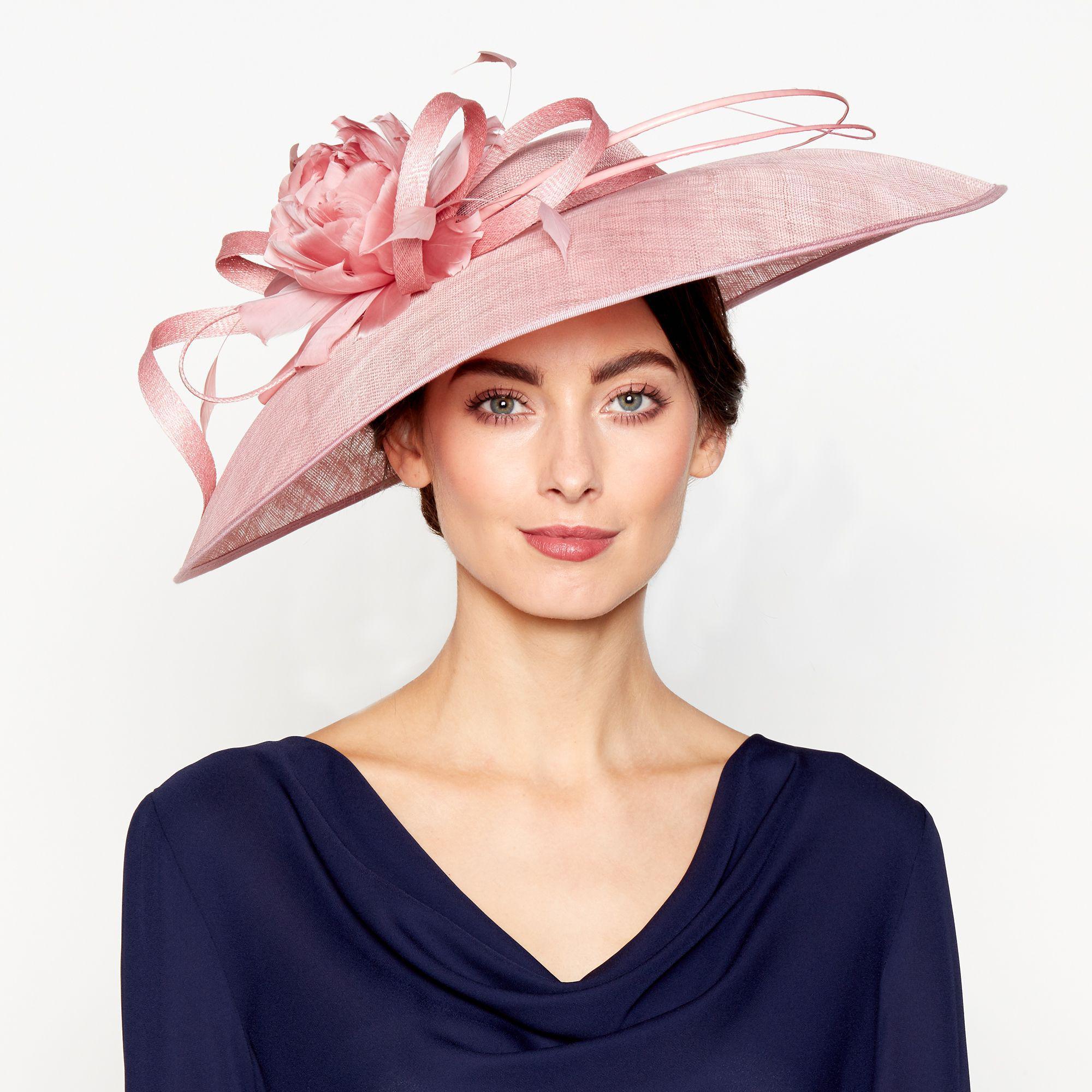 J By Jasper Conran Pink  lila  Downbrim Fascinator in Pink - Lyst 4b3ed6d22ad