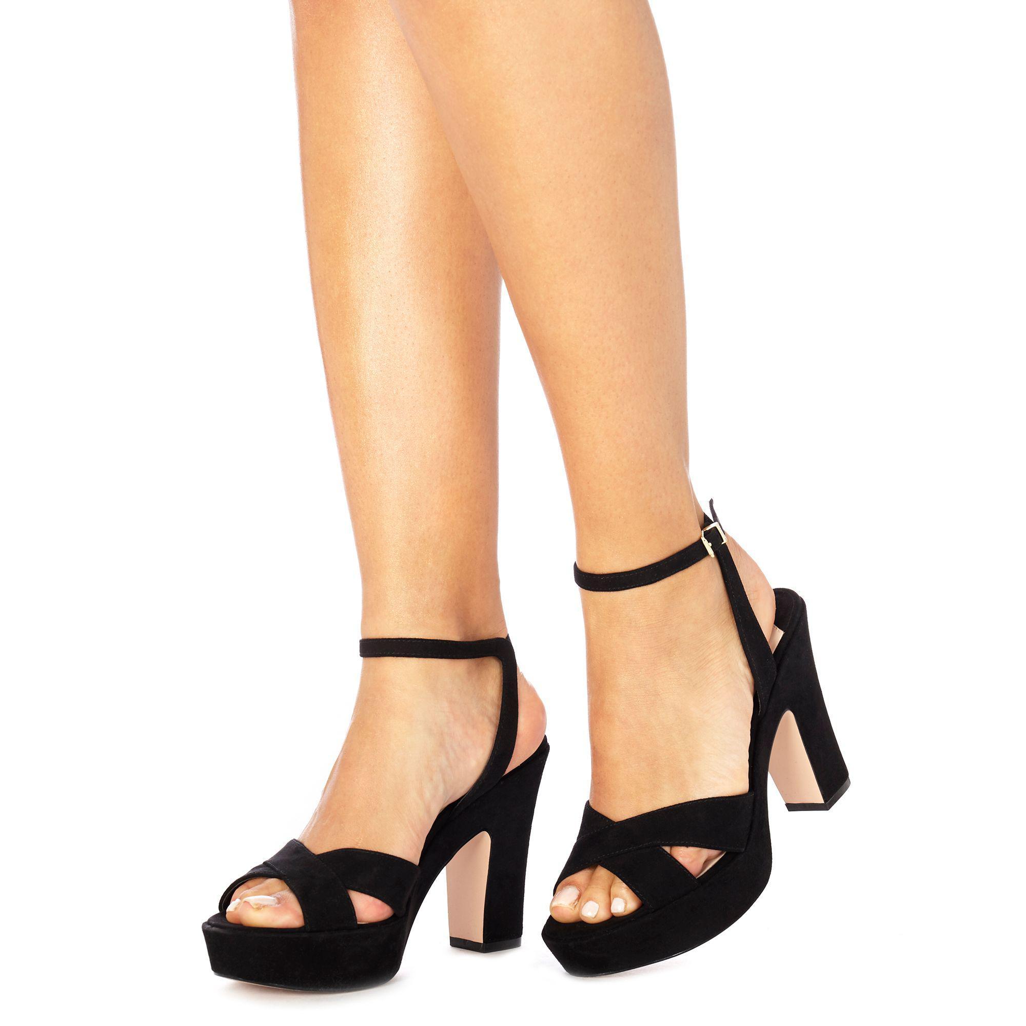 Faith DORM - High heeled sandals - black BM7kjJR