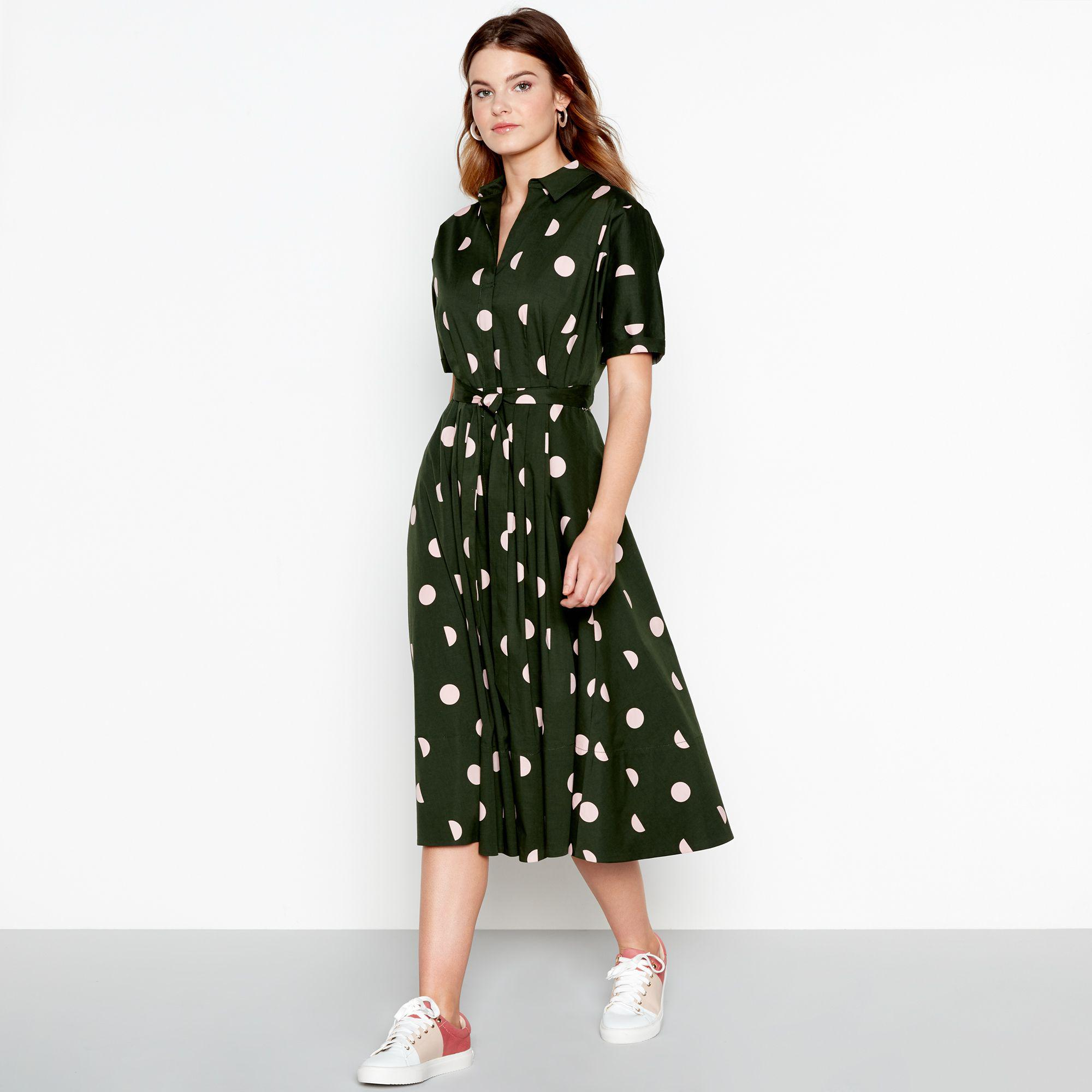 ae308d4bd58c Jasper Conran Full Skirt Shirt Dress