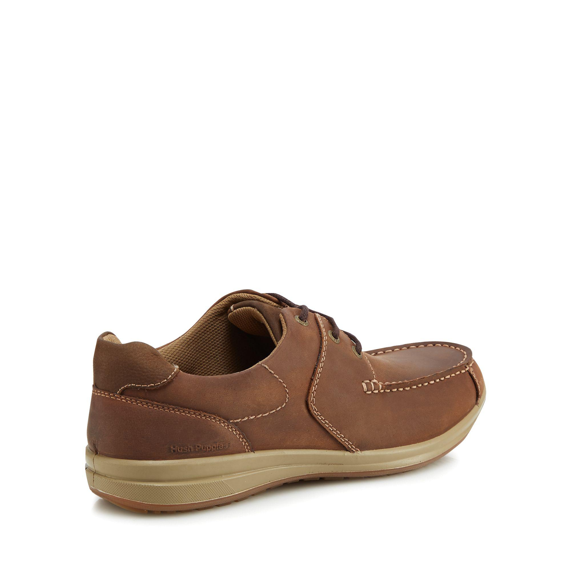 Brown leather 'Runner' Derby shoes with paypal cheap price free shipping exclusive free shipping best store to get discount footaction IEeqdlF