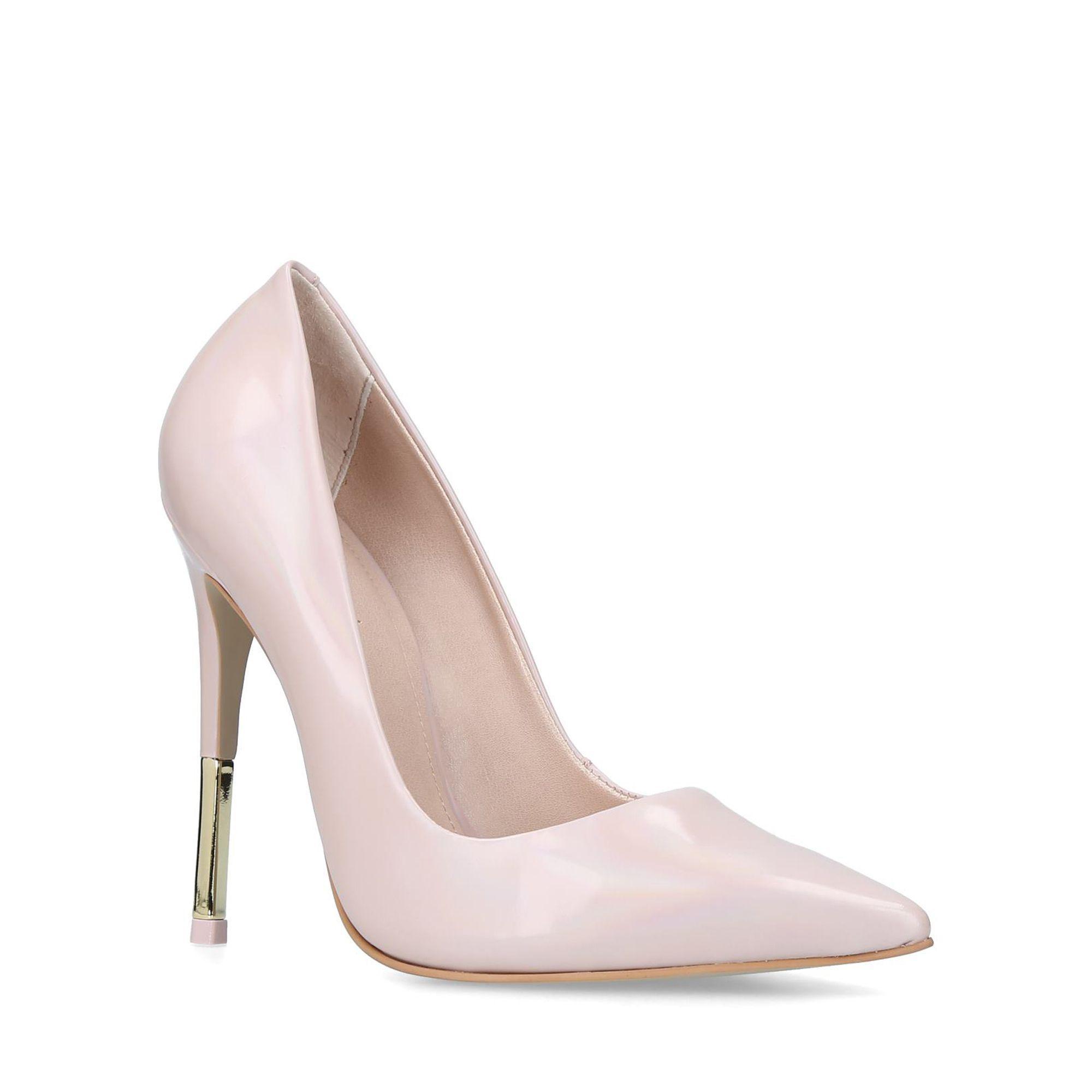 8ec9901f6 Carvela Kurt Geiger. Women s Natural Nude  allie 3  Leather Stiletto Heel  Court Shoes