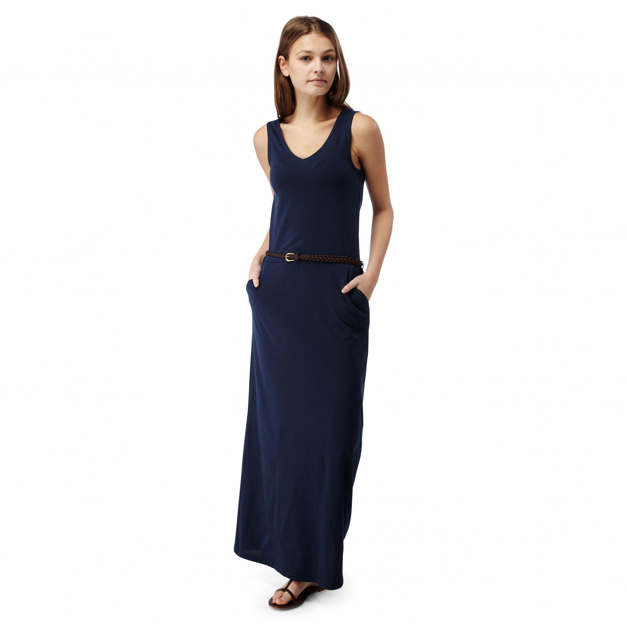 125dcdfc1b7 Craghoppers Night Blue Nosilife Amiee Maxi Dress in Blue - Lyst