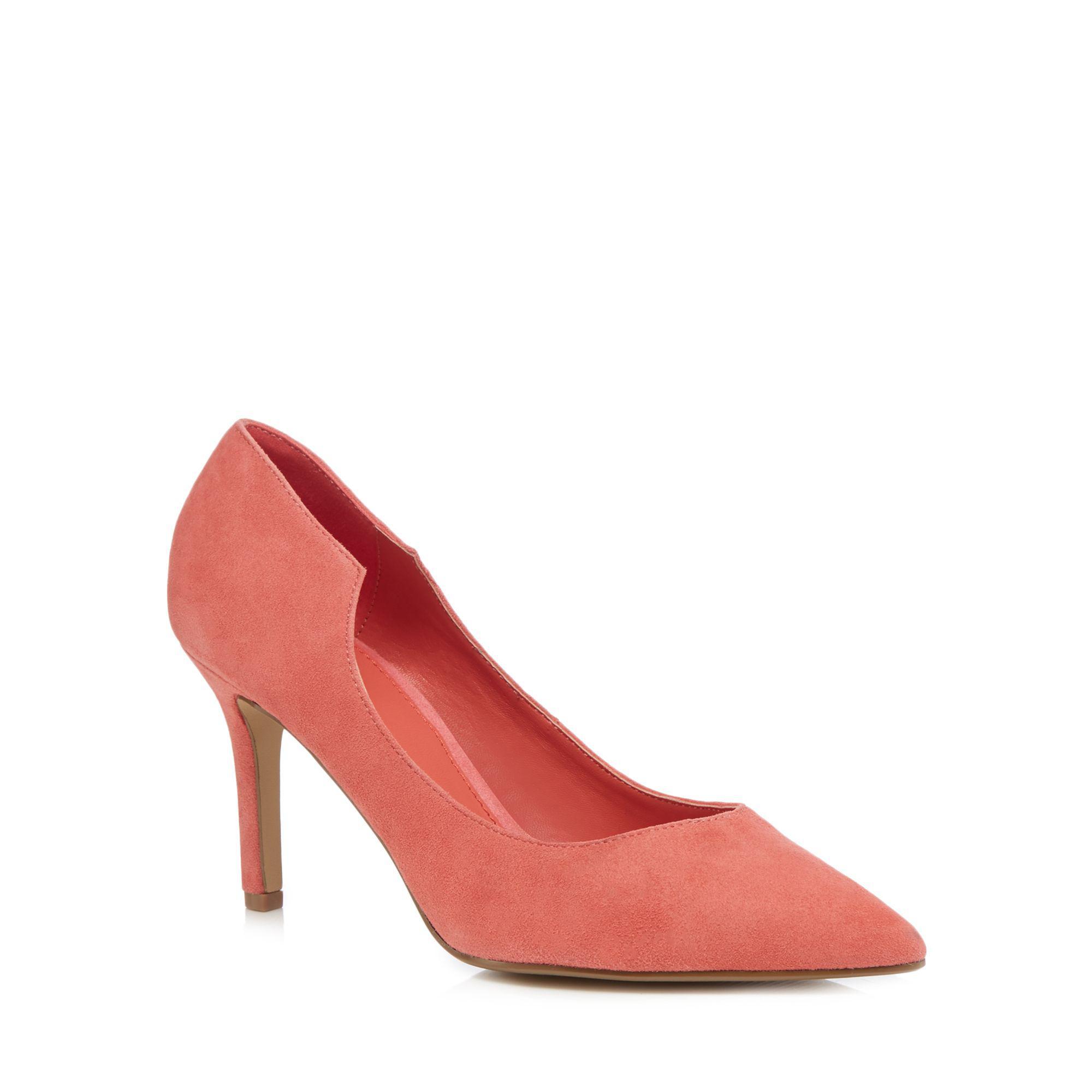 cfa0f27a8cd2 J By Jasper Conran. Women's Pink Suede 'jolie' High Stiletto Heel Pointed  Court Shoes