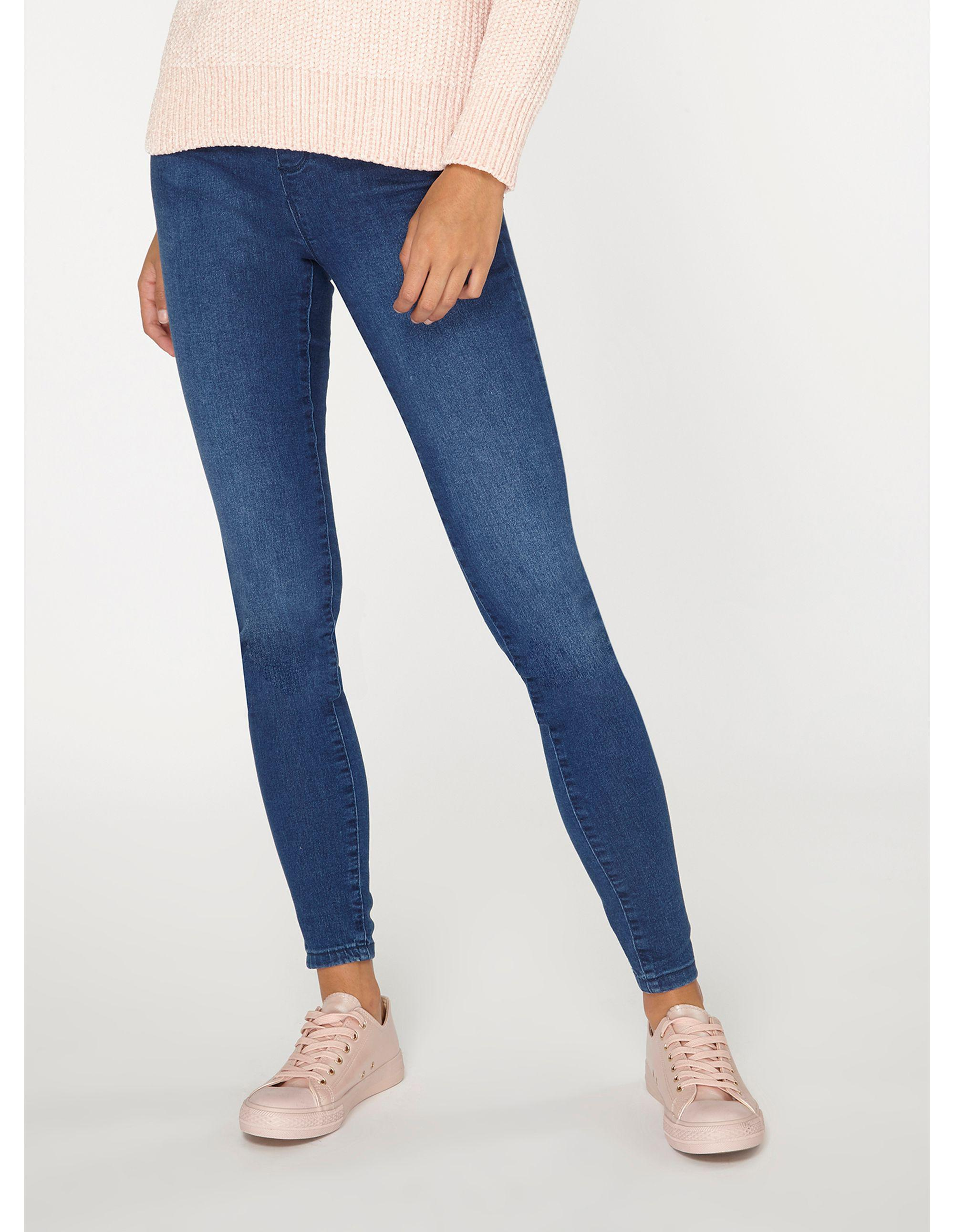 bc698c0319ed67 Dorothy Perkins Tall Mid Wash Blue Eden Jeans in Blue - Lyst