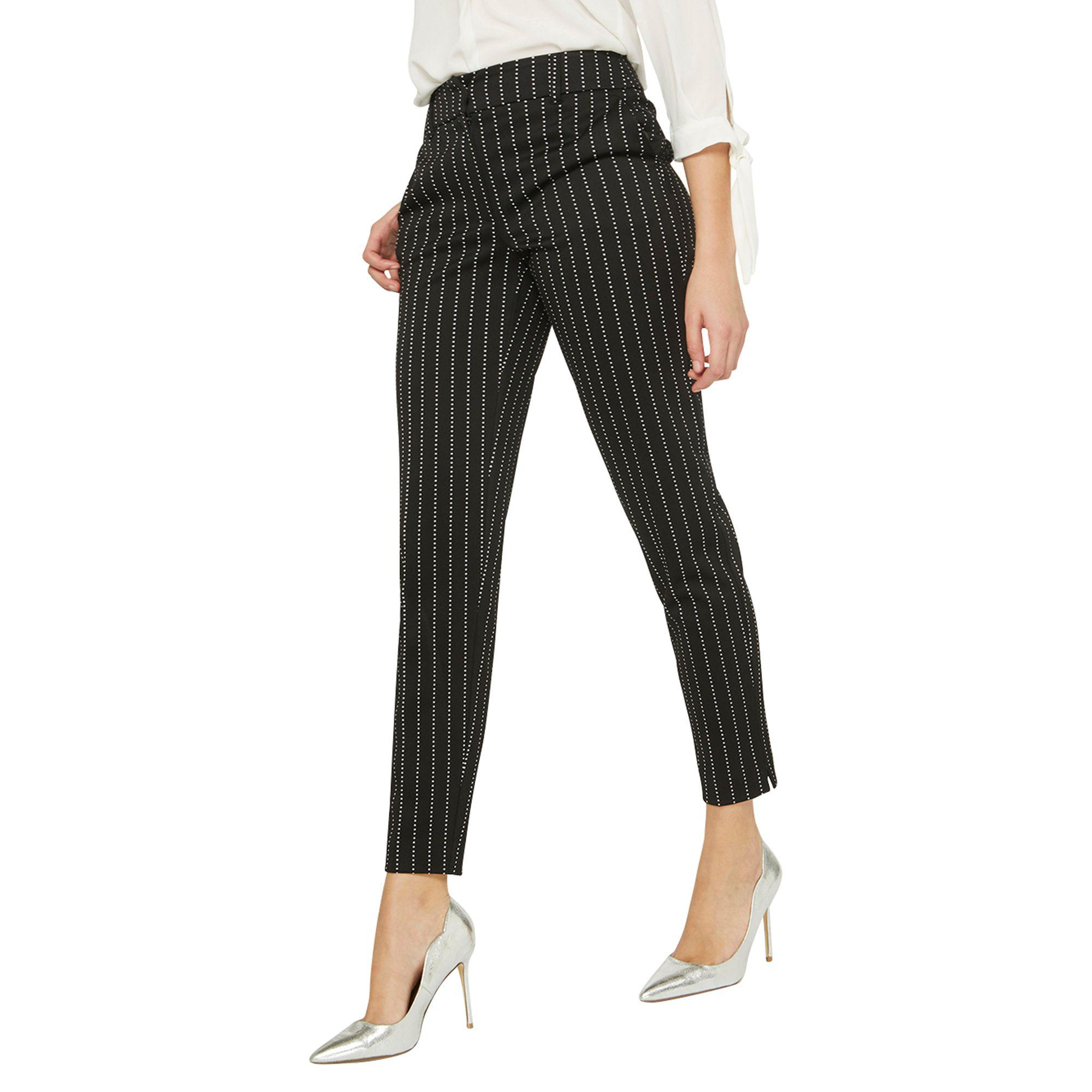 Dorothy Perkins Womens **Tall Spotted Ankle Grazer Trousers- Popular Sale Online Outlet Genuine For Cheap Online 8vN2MPBrWk