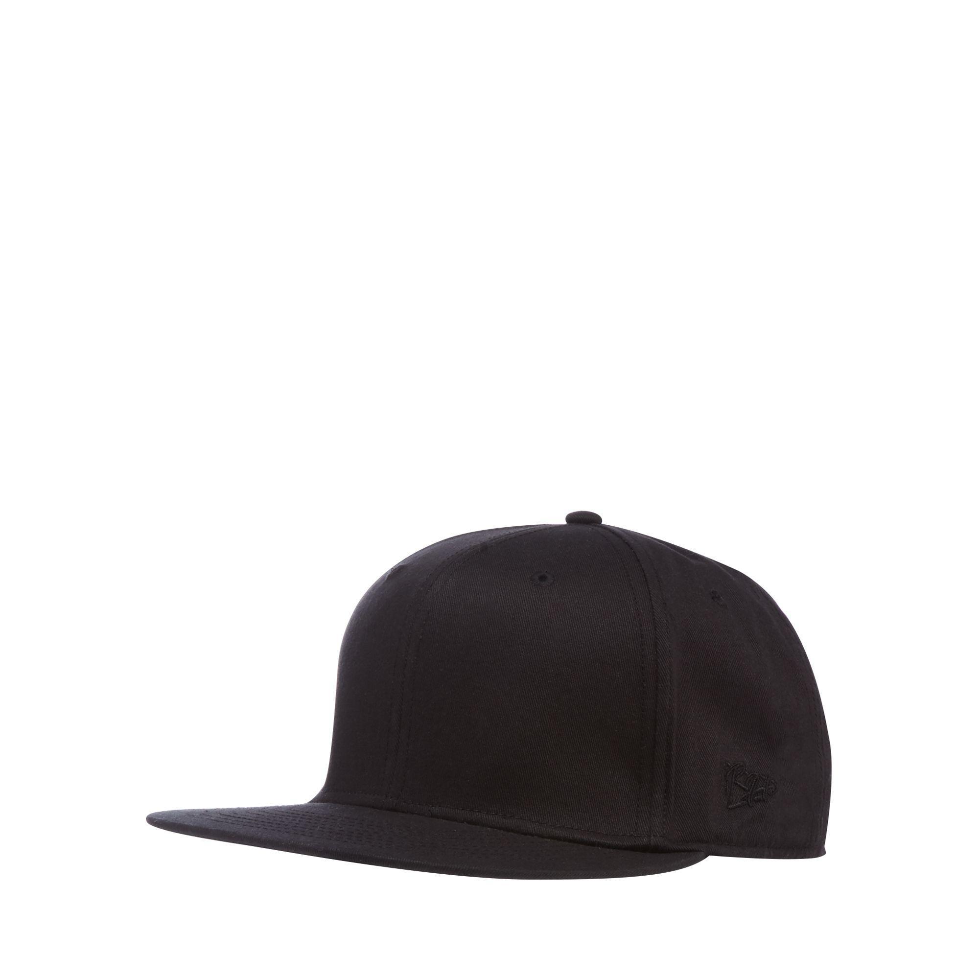 1365deac68d Red Herring Black Baseball Hat in Black for Men - Lyst