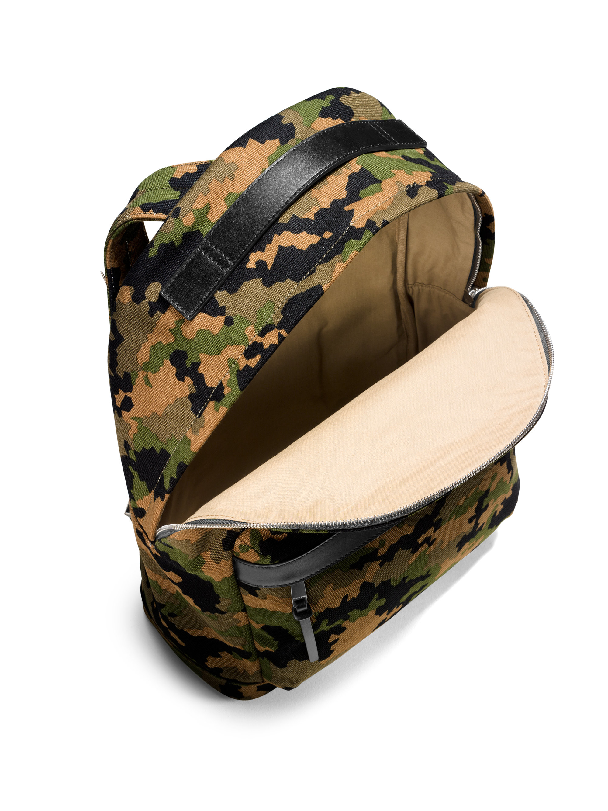 e26e20dfa84c Lyst - Michael Kors Grant Camo Backpack in Green for Men