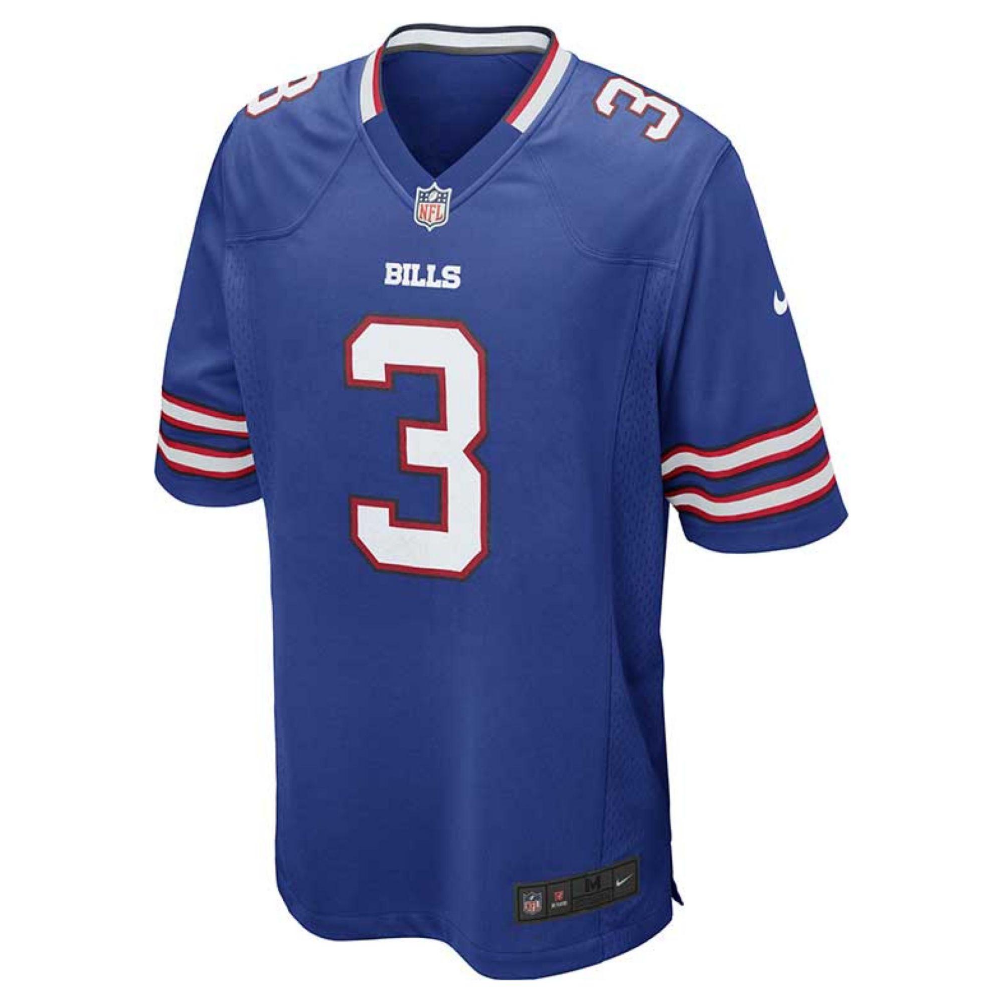 nike s e j manuel buffalo bills jersey in blue